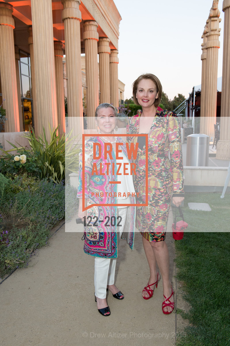 Jeanne Lawrence, Nina Kotova, Festival del Sole Patron Dinner at Darioush Winery, Darioush Winery. 4240 Silverado Trail, July 24th, 2015,Drew Altizer, Drew Altizer Photography, full-service agency, private events, San Francisco photographer, photographer california