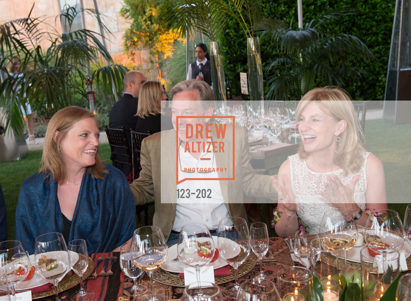 Linnea Pearson, David Pearson, Karen Walker, Festival del Sole Patron Dinner at Darioush Winery, Darioush Winery. 4240 Silverado Trail, July 24th, 2015,Drew Altizer, Drew Altizer Photography, full-service agency, private events, San Francisco photographer, photographer california