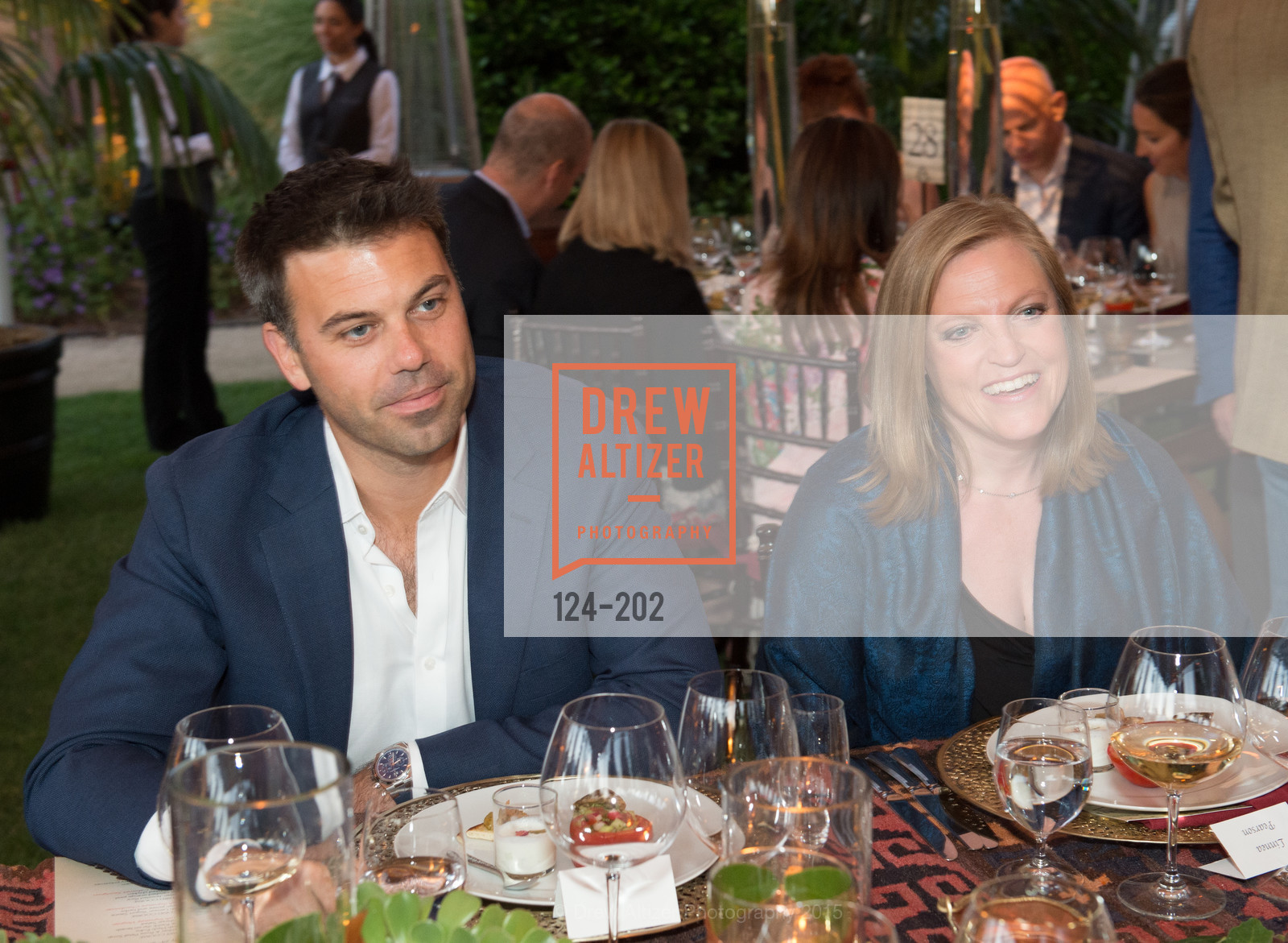 Timothy Persson, Linnea Pearson, Festival del Sole Patron Dinner at Darioush Winery, Darioush Winery. 4240 Silverado Trail, July 24th, 2015,Drew Altizer, Drew Altizer Photography, full-service agency, private events, San Francisco photographer, photographer california