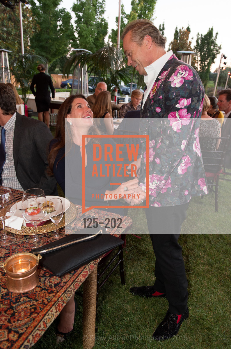 Michelle Baggett, Jean-Charles Boisset, Festival del Sole Patron Dinner at Darioush Winery, Darioush Winery. 4240 Silverado Trail, July 24th, 2015,Drew Altizer, Drew Altizer Photography, full-service agency, private events, San Francisco photographer, photographer california