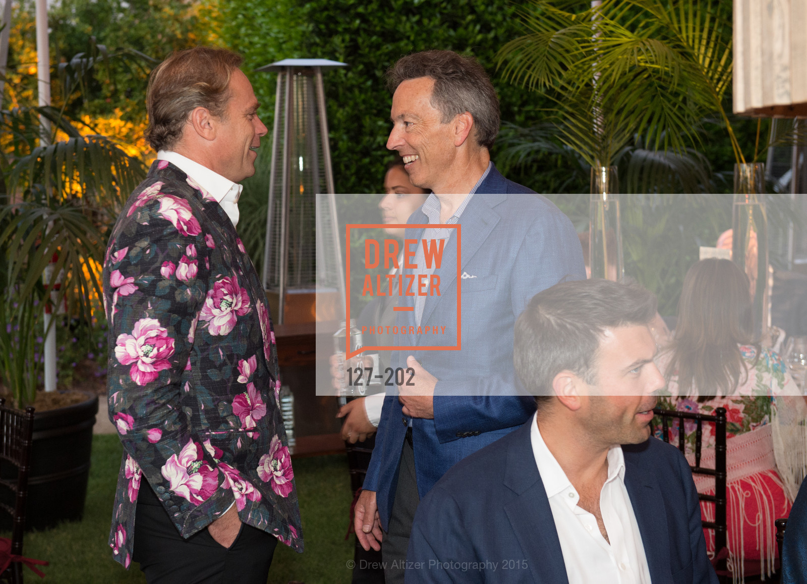 Jean-Charles Boisset, Rick Walker, Festival del Sole Patron Dinner at Darioush Winery, Darioush Winery. 4240 Silverado Trail, July 24th, 2015