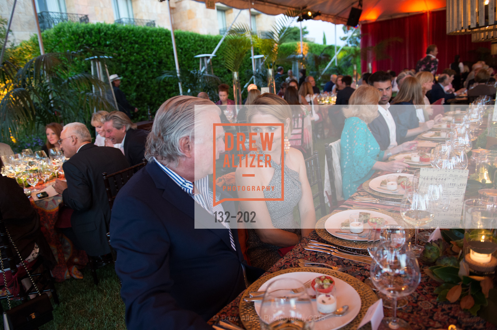 Clarke Swanson, Sabrina Persson, Festival del Sole Patron Dinner at Darioush Winery, Darioush Winery. 4240 Silverado Trail, July 24th, 2015,Drew Altizer, Drew Altizer Photography, full-service agency, private events, San Francisco photographer, photographer california