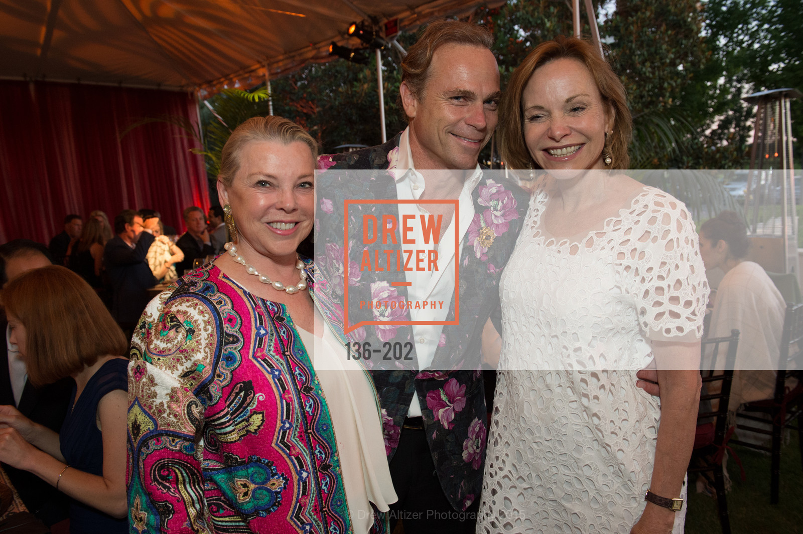 Jeanne Lawrence, Jean-Charles Boisset, Jan Zakin, Festival del Sole Patron Dinner at Darioush Winery, Darioush Winery. 4240 Silverado Trail, July 24th, 2015,Drew Altizer, Drew Altizer Photography, full-service event agency, private events, San Francisco photographer, photographer California