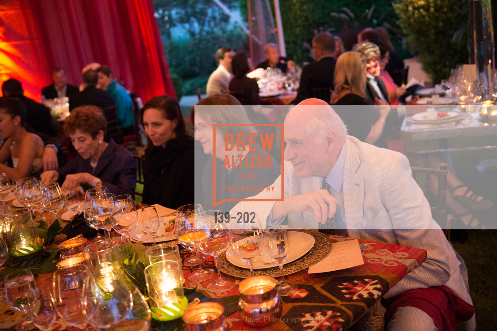 Alice Corning, Richard Massey, Festival del Sole Patron Dinner at Darioush Winery, Darioush Winery. 4240 Silverado Trail, July 24th, 2015,Drew Altizer, Drew Altizer Photography, full-service agency, private events, San Francisco photographer, photographer california
