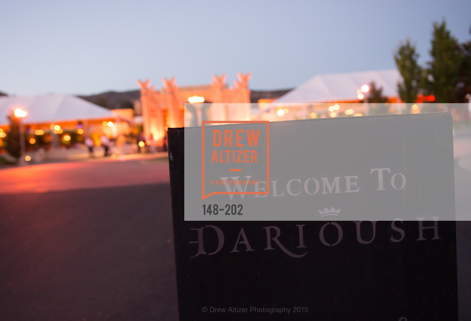 Atmosphere, Festival del Sole Patron Dinner at Darioush Winery, Darioush Winery. 4240 Silverado Trail, July 24th, 2015