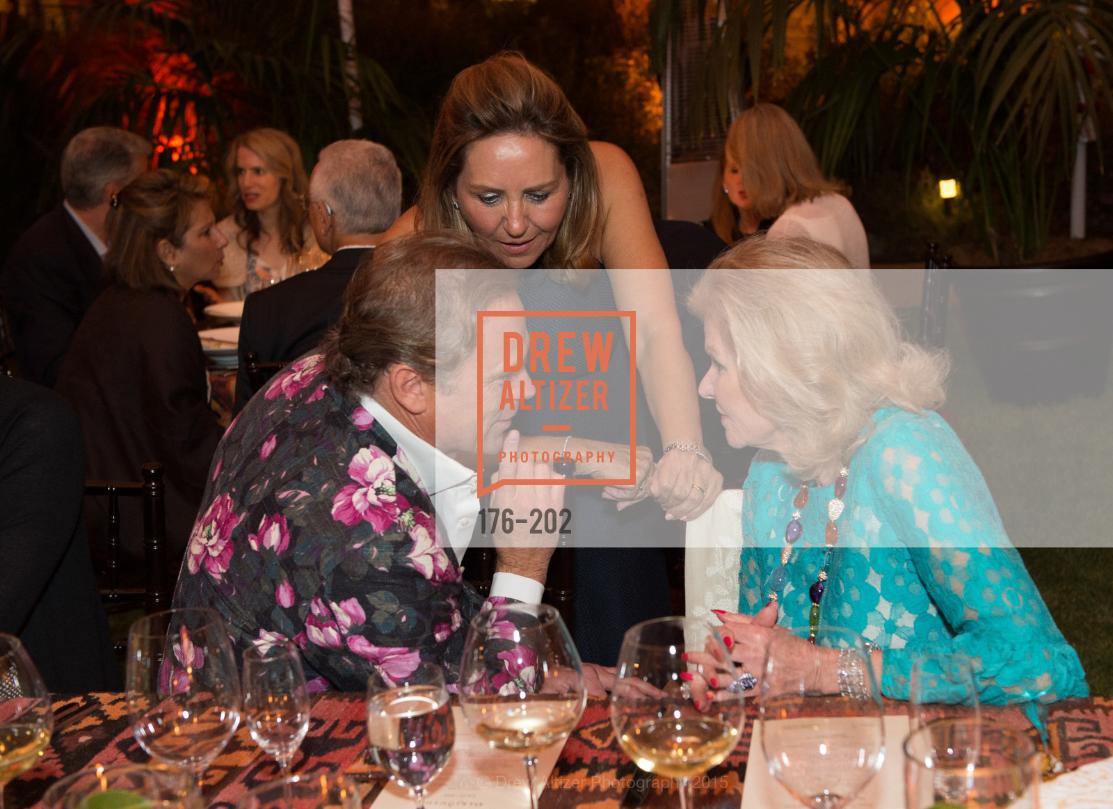 Jean-Charles Boisset, Shahpar Khaledi, Dede Wilsey, Festival del Sole Patron Dinner at Darioush Winery, Darioush Winery. 4240 Silverado Trail, July 24th, 2015,Drew Altizer, Drew Altizer Photography, full-service agency, private events, San Francisco photographer, photographer california
