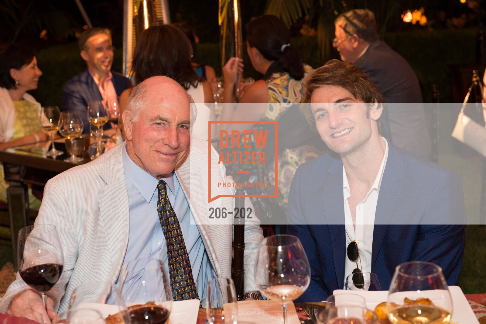 Richard Massey, Aaron Robison, Festival del Sole Patron Dinner at Darioush Winery, Darioush Winery. 4240 Silverado Trail, July 24th, 2015,Drew Altizer, Drew Altizer Photography, full-service agency, private events, San Francisco photographer, photographer california