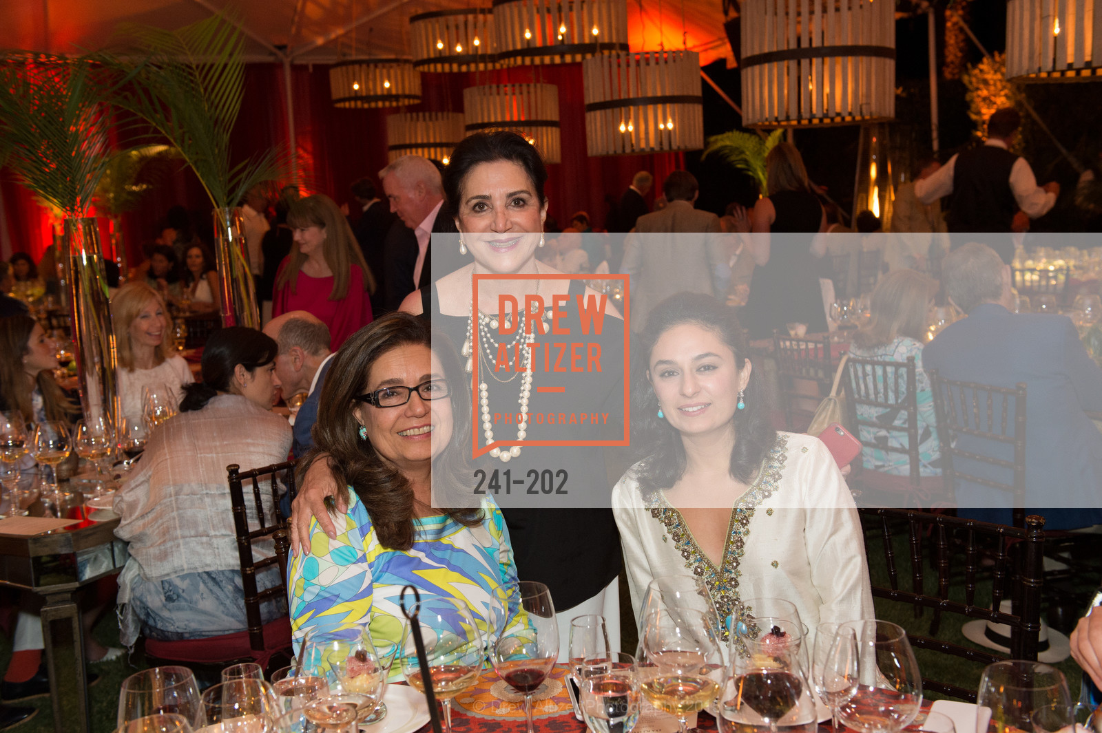 Susie, Lily Samii, Sonya Sani, Festival del Sole Patron Dinner at Darioush Winery, Darioush Winery. 4240 Silverado Trail, July 24th, 2015,Drew Altizer, Drew Altizer Photography, full-service agency, private events, San Francisco photographer, photographer california