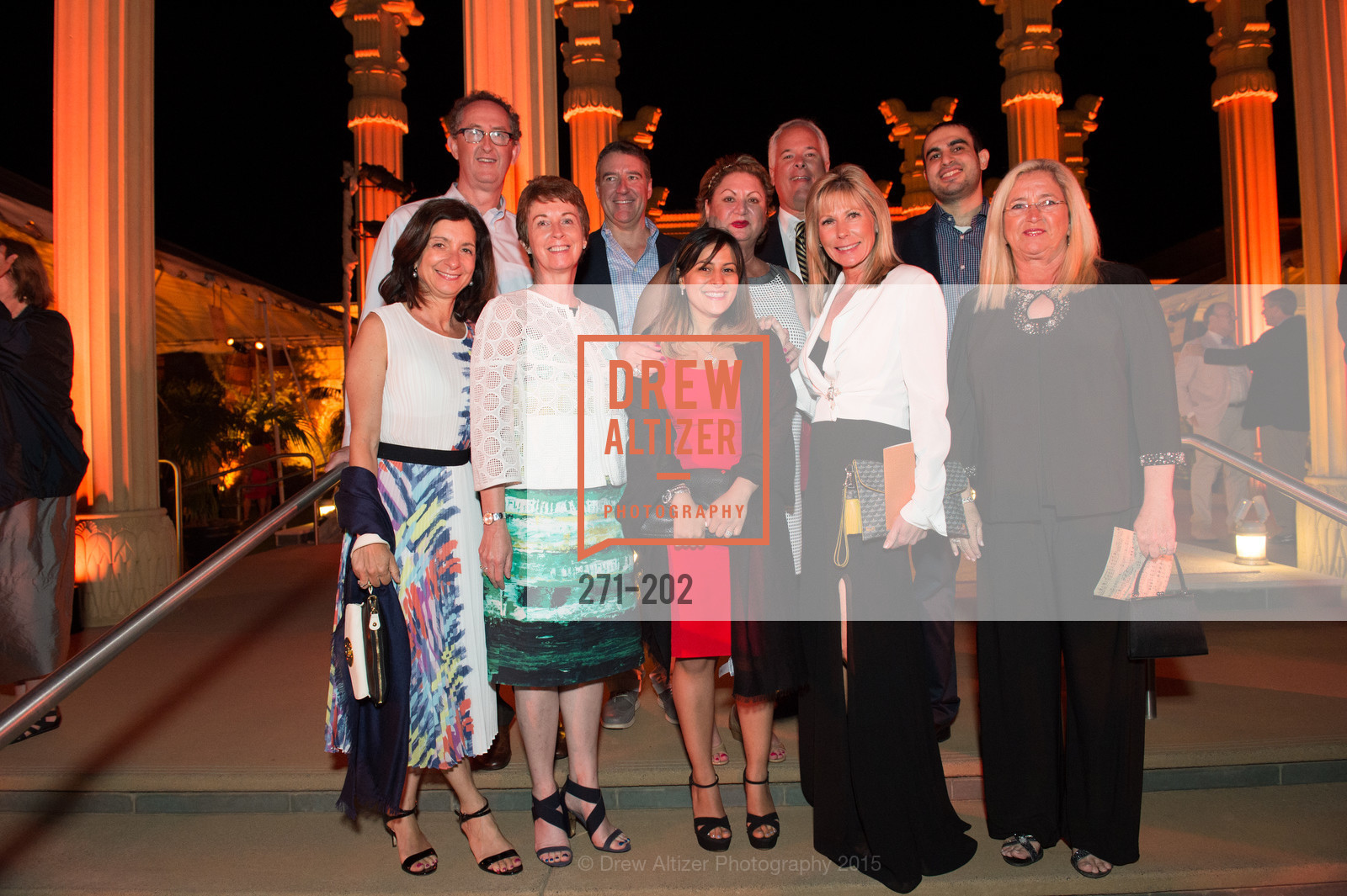 Nellie Keyhani, Zoreh Tamjidi, Tim McCarthy, Navid Firoozabady, Karon McCarthy, Festival del Sole Patron Dinner at Darioush Winery, Darioush Winery. 4240 Silverado Trail, July 24th, 2015,Drew Altizer, Drew Altizer Photography, full-service agency, private events, San Francisco photographer, photographer california