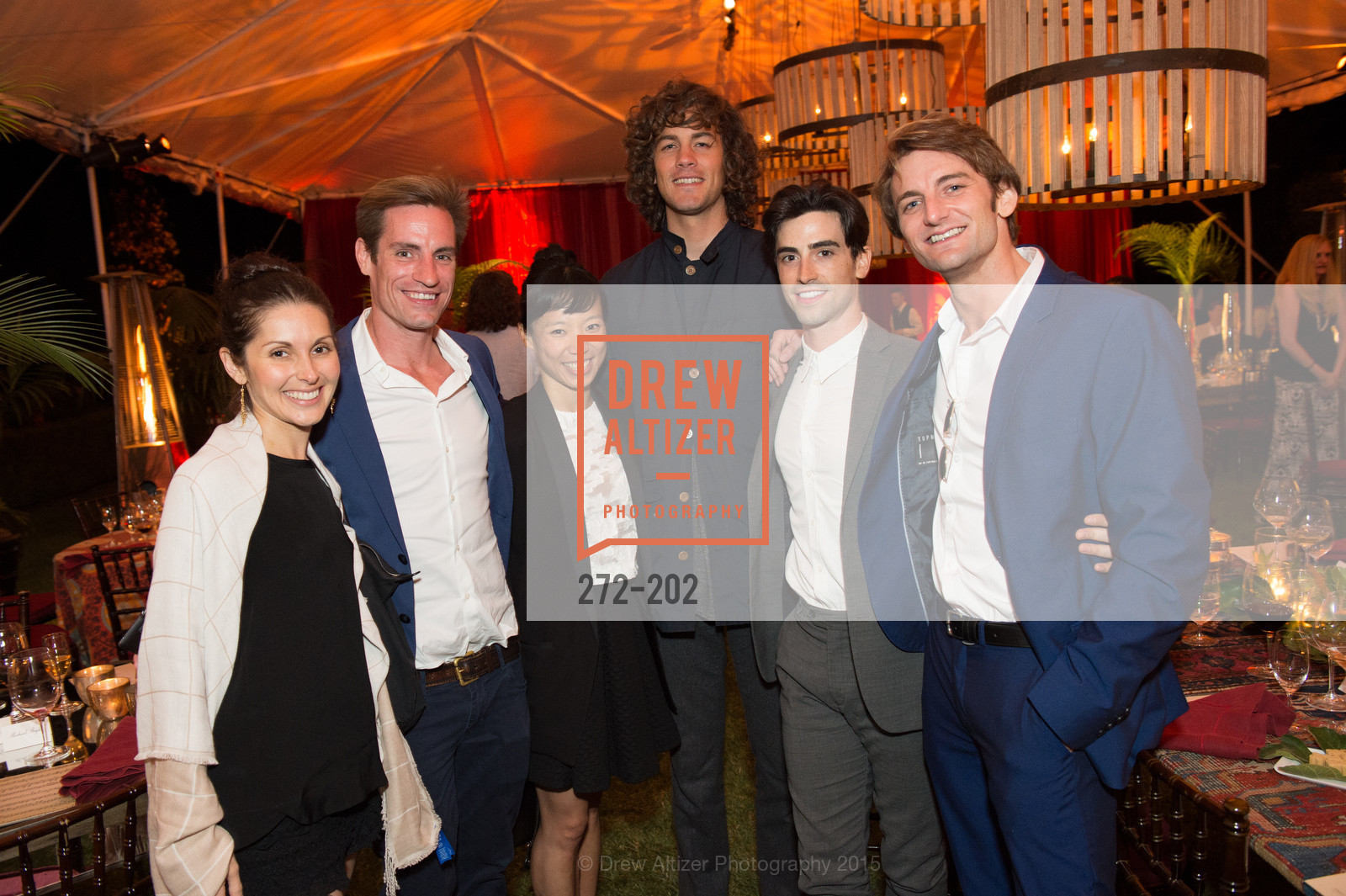 Lauren Strongin, Andrew Veyette, Frances Chung, John Flaherty, Joseph Walsh, Aaron Robison, Festival del Sole Patron Dinner at Darioush Winery, Darioush Winery. 4240 Silverado Trail, July 24th, 2015,Drew Altizer, Drew Altizer Photography, full-service agency, private events, San Francisco photographer, photographer california