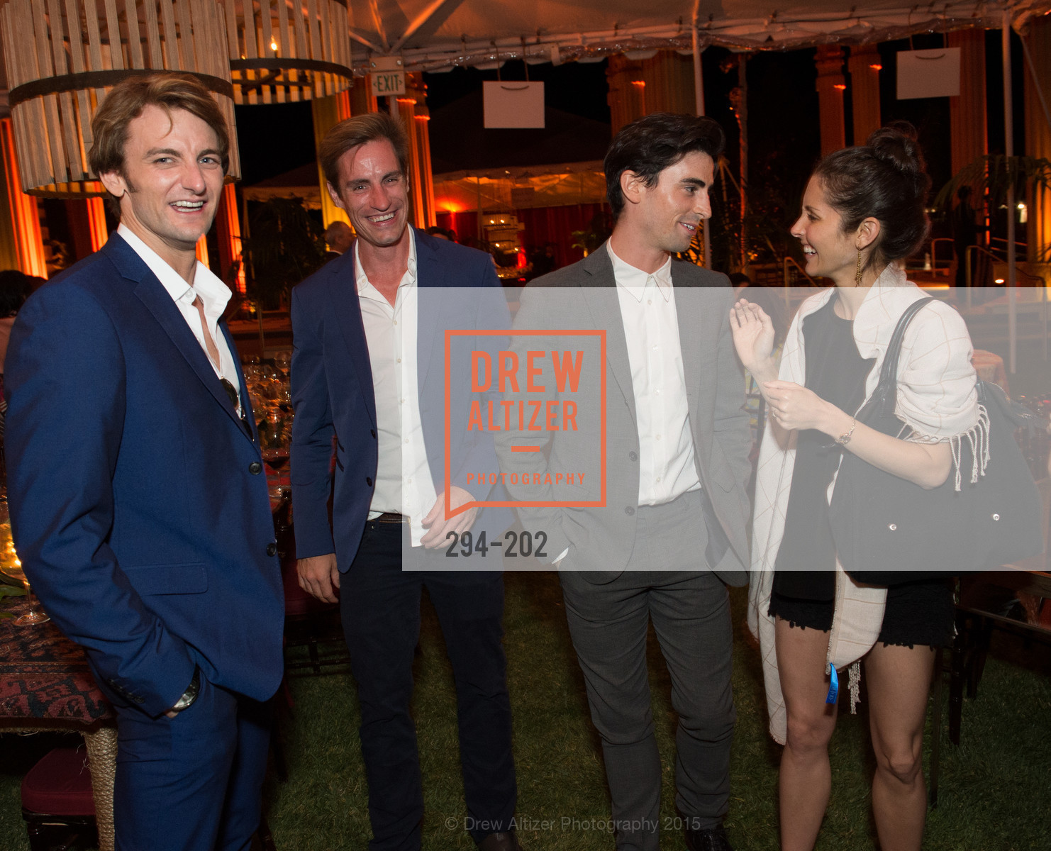 Aaron Robison, Andrew Veyette, Joseph Walsh, Lauren Strongin, Festival del Sole Patron Dinner at Darioush Winery, Darioush Winery. 4240 Silverado Trail, July 24th, 2015,Drew Altizer, Drew Altizer Photography, full-service event agency, private events, San Francisco photographer, photographer California