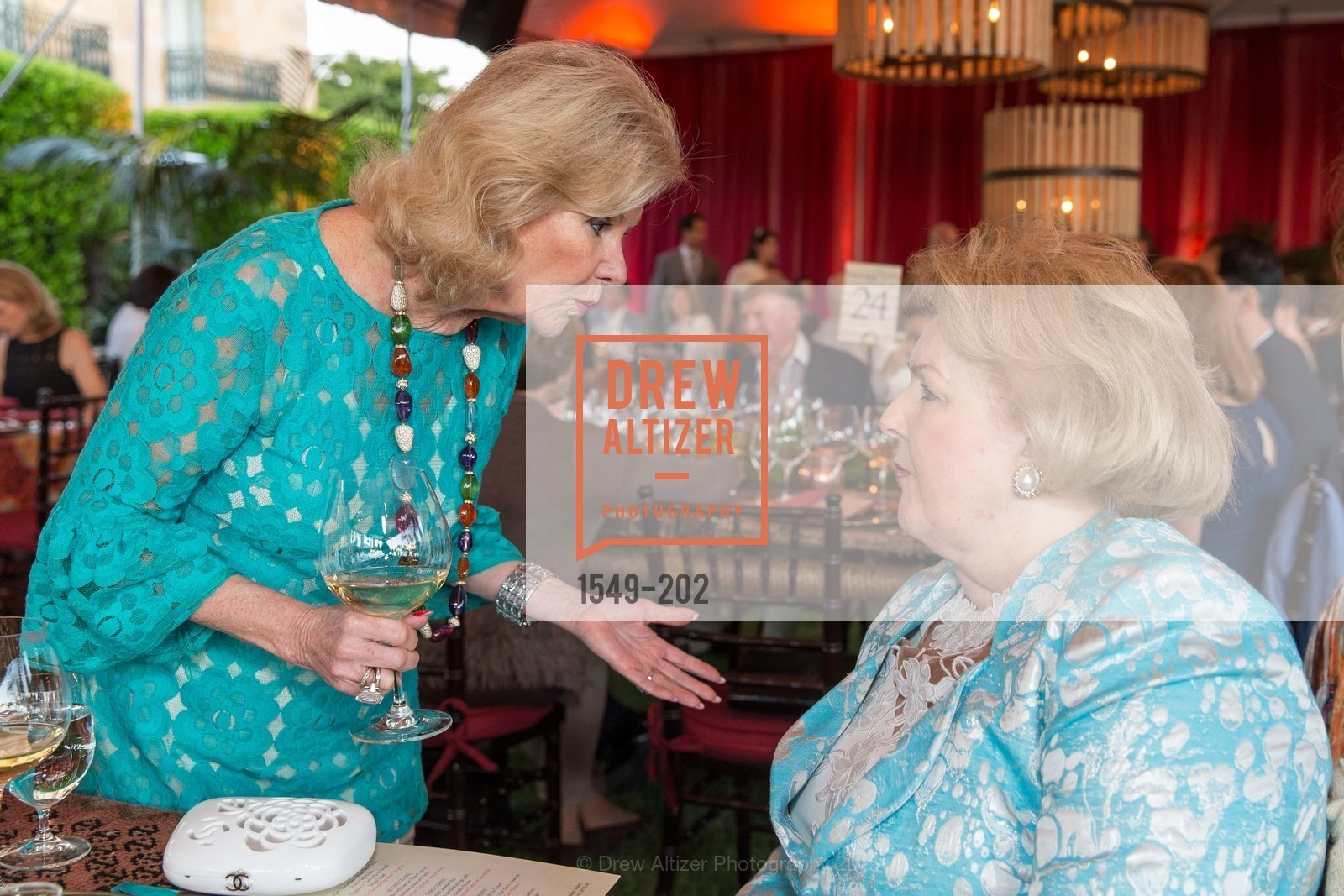 Dede Wilsey, Carol Swanson Prit, Festival del Sole Patron Dinner at Darioush Winery, Darioush Winery. 4240 Silverado Trail, July 24th, 2015,Drew Altizer, Drew Altizer Photography, full-service agency, private events, San Francisco photographer, photographer california