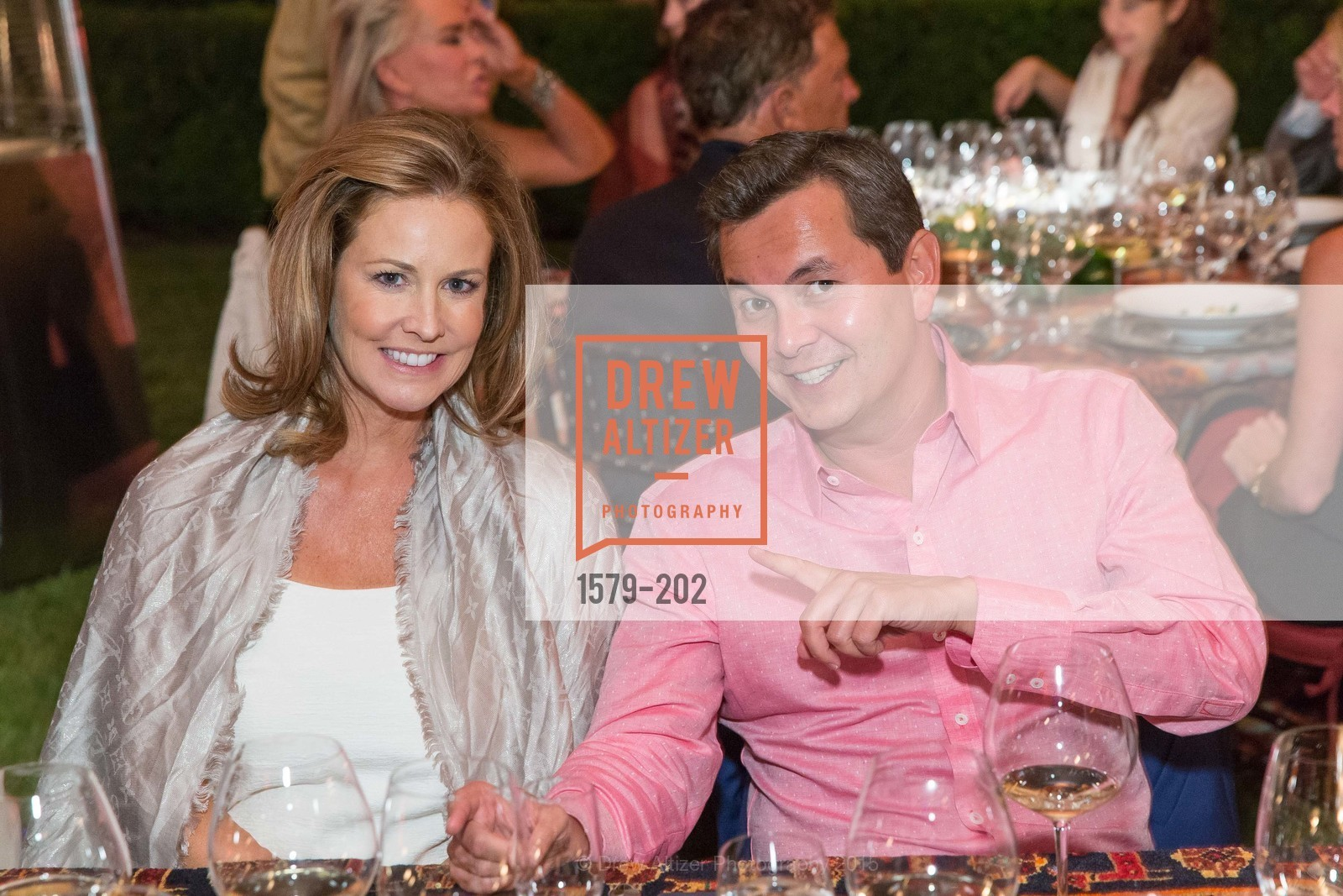 Maggie Oetgen, Michael Uytengsu, Festival del Sole Patron Dinner at Darioush Winery, Darioush Winery. 4240 Silverado Trail, July 24th, 2015,Drew Altizer, Drew Altizer Photography, full-service agency, private events, San Francisco photographer, photographer california