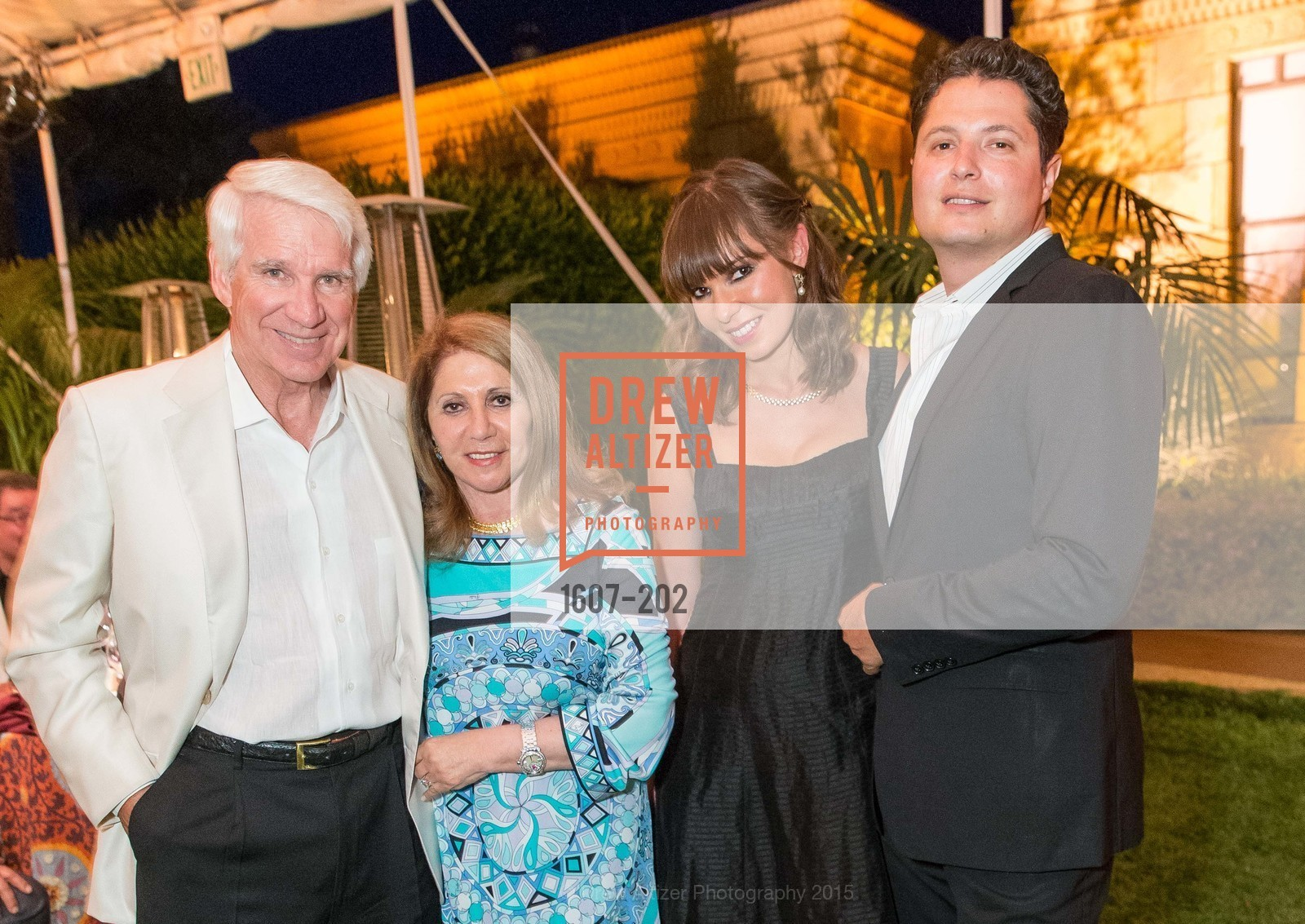 Timothy Blackburn, Athena Blackburn, Olya Troxel, Serge Troxel, Festival del Sole Patron Dinner at Darioush Winery, Darioush Winery. 4240 Silverado Trail, July 24th, 2015,Drew Altizer, Drew Altizer Photography, full-service event agency, private events, San Francisco photographer, photographer California