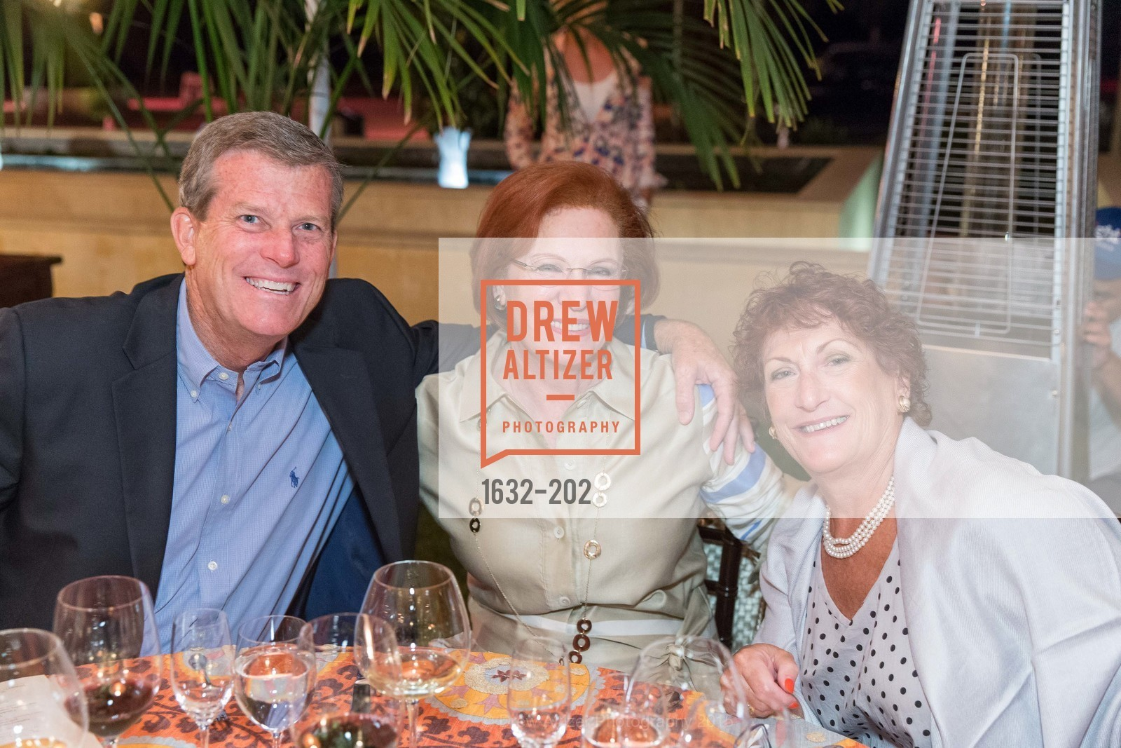 David Dahl, Romana Bracco, Barbara Crawford, Festival del Sole Patron Dinner at Darioush Winery, Darioush Winery. 4240 Silverado Trail, July 24th, 2015,Drew Altizer, Drew Altizer Photography, full-service event agency, private events, San Francisco photographer, photographer California