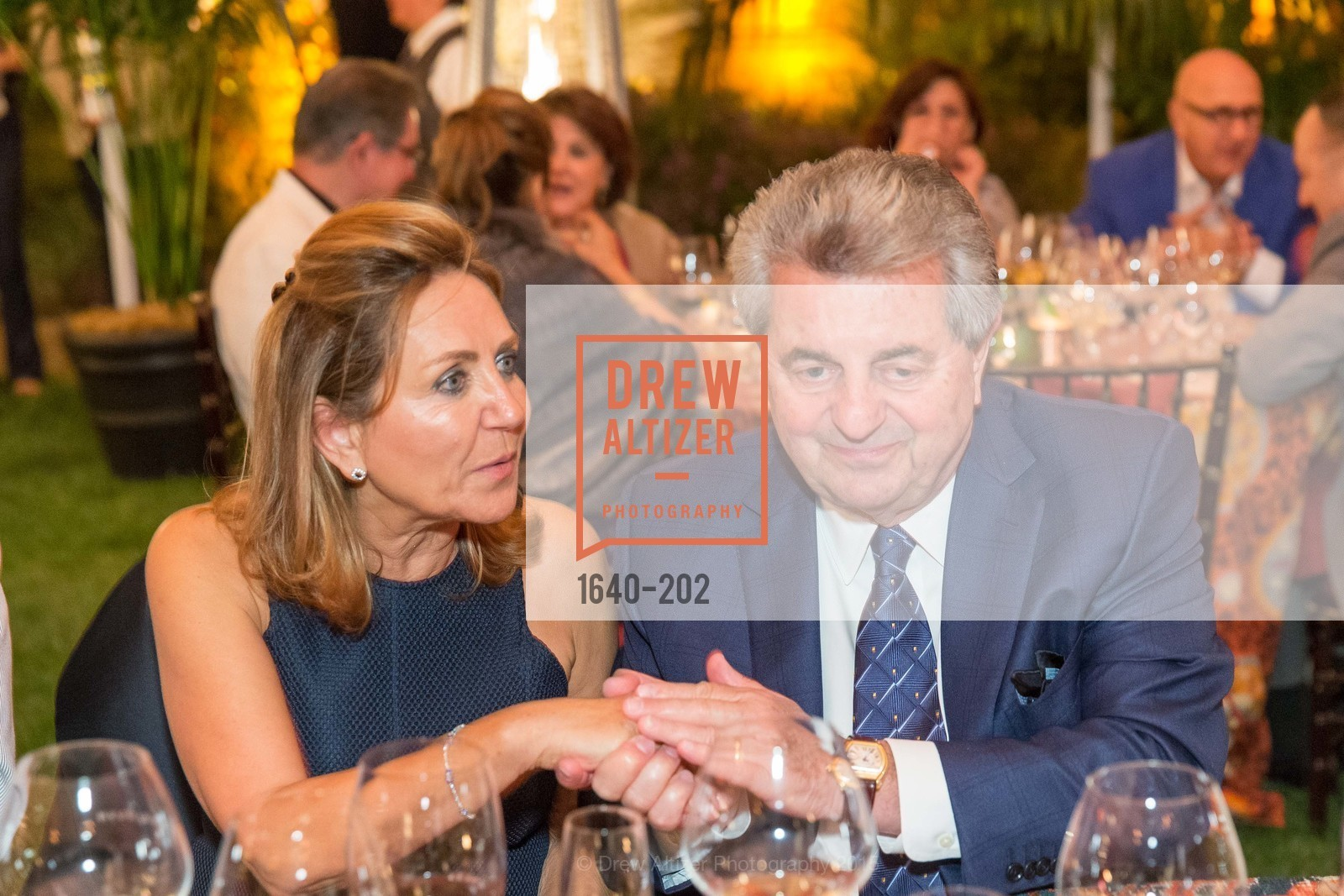 Shahpar Khaledi, Carmen Policy, Festival del Sole Patron Dinner at Darioush Winery, Darioush Winery. 4240 Silverado Trail, July 24th, 2015,Drew Altizer, Drew Altizer Photography, full-service agency, private events, San Francisco photographer, photographer california