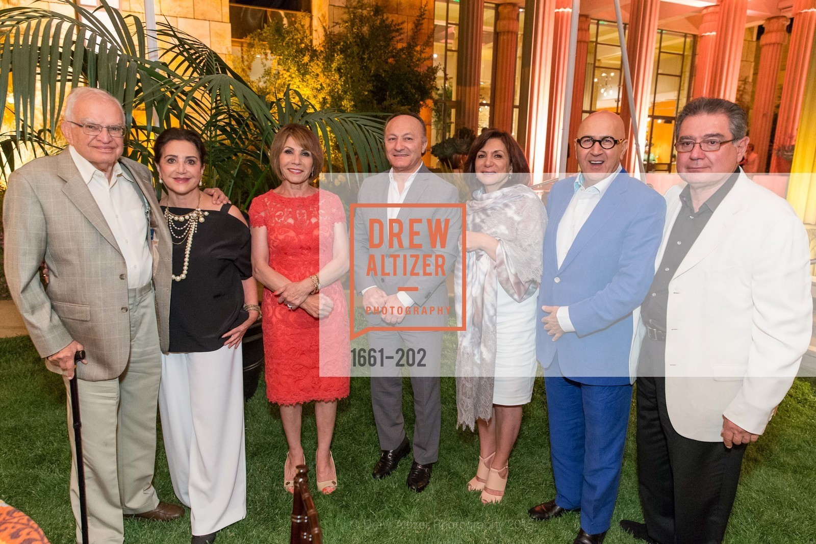 Mark Samii, Lily Samii, Maryam Pak, Hooshang Pak, Katy Saei, Michael Kaei, Farrok Yazdi, Festival del Sole Patron Dinner at Darioush Winery, Darioush Winery. 4240 Silverado Trail, July 24th, 2015,Drew Altizer, Drew Altizer Photography, full-service agency, private events, San Francisco photographer, photographer california
