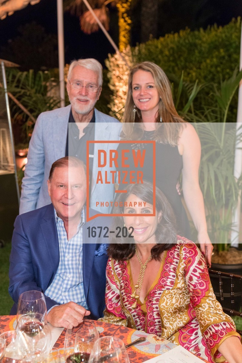 John Grotts, Walter Wood, Tessa Edwards, Lisa Grotts, Festival del Sole Patron Dinner at Darioush Winery, Darioush Winery. 4240 Silverado Trail, July 24th, 2015,Drew Altizer, Drew Altizer Photography, full-service agency, private events, San Francisco photographer, photographer california