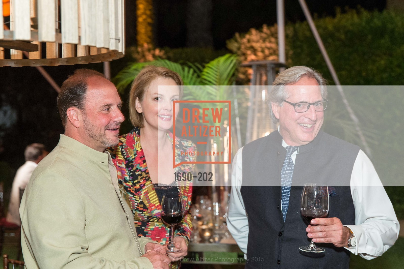 Barrett Wissman, Nina Kotova, Gilles De Chambure, Festival del Sole Patron Dinner at Darioush Winery, Darioush Winery. 4240 Silverado Trail, July 24th, 2015,Drew Altizer, Drew Altizer Photography, full-service agency, private events, San Francisco photographer, photographer california