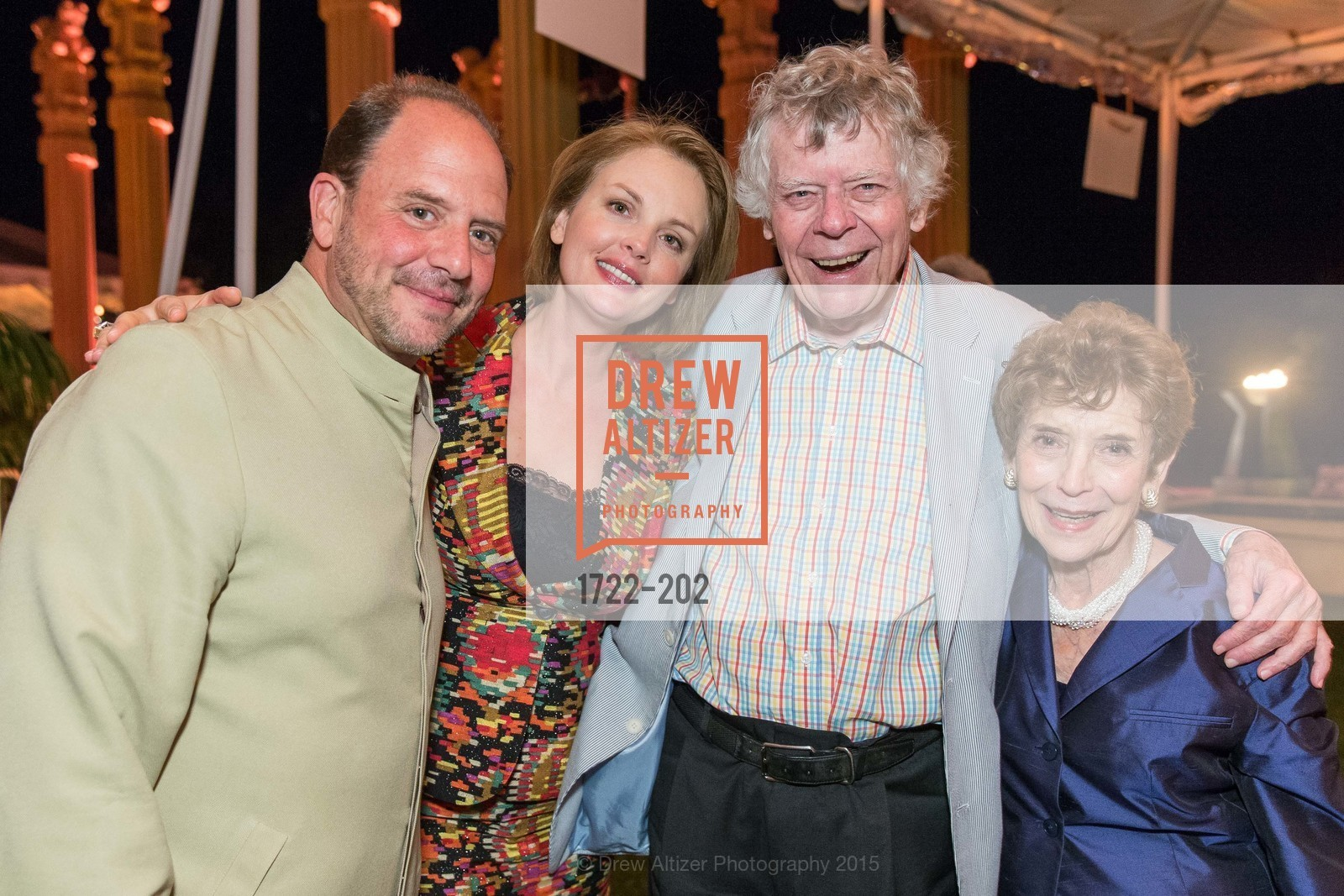 Barrett Wissman, Nina Kotova, Gordon Getty, Festival del Sole Patron Dinner at Darioush Winery, Darioush Winery. 4240 Silverado Trail, July 24th, 2015,Drew Altizer, Drew Altizer Photography, full-service agency, private events, San Francisco photographer, photographer california