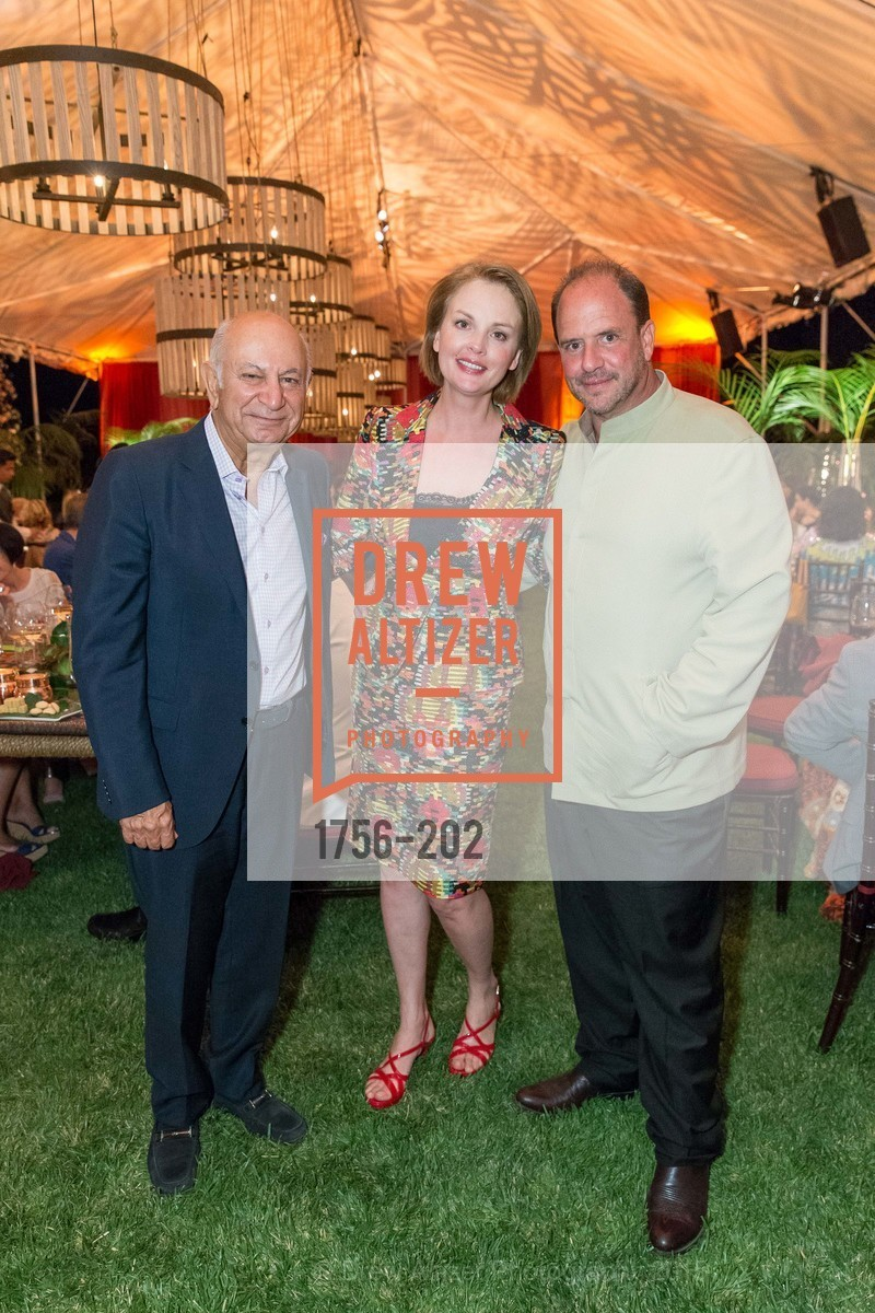 Darioush Khaledi, Barrett Wissman, Nina Kotova, Festival del Sole Patron Dinner at Darioush Winery, Darioush Winery. 4240 Silverado Trail, July 24th, 2015,Drew Altizer, Drew Altizer Photography, full-service agency, private events, San Francisco photographer, photographer california