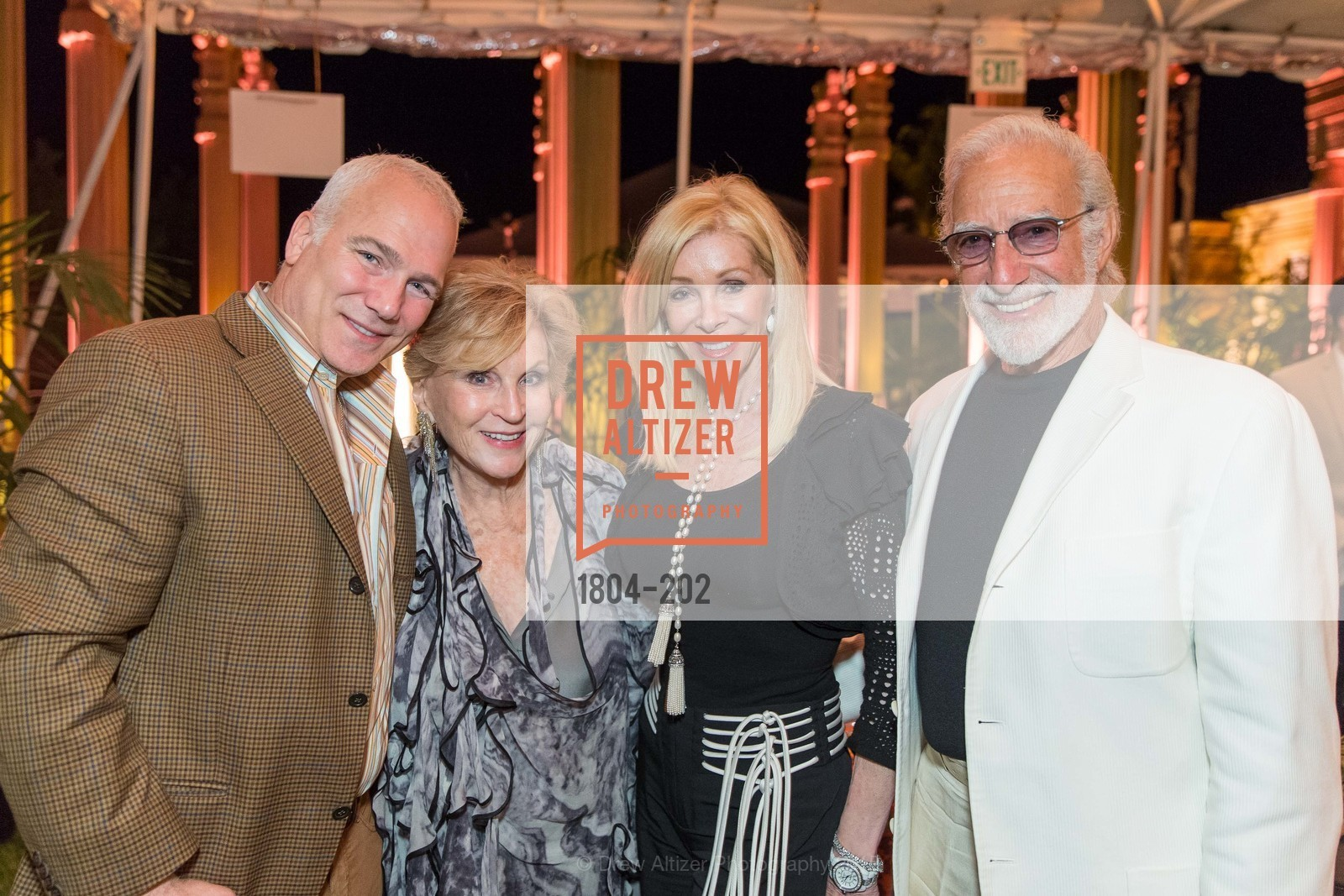 Franc D'Ambrosio, Lois Lehrman, Pamala Deikel, Ted Deikel, Festival del Sole Patron Dinner at Darioush Winery, Darioush Winery. 4240 Silverado Trail, July 24th, 2015,Drew Altizer, Drew Altizer Photography, full-service agency, private events, San Francisco photographer, photographer california