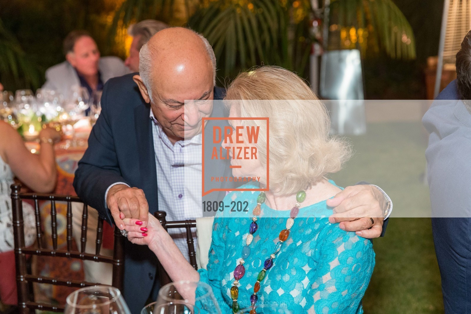 Darioush Khaledi, Dede Wilsey, Festival del Sole Patron Dinner at Darioush Winery, Darioush Winery. 4240 Silverado Trail, July 24th, 2015,Drew Altizer, Drew Altizer Photography, full-service agency, private events, San Francisco photographer, photographer california