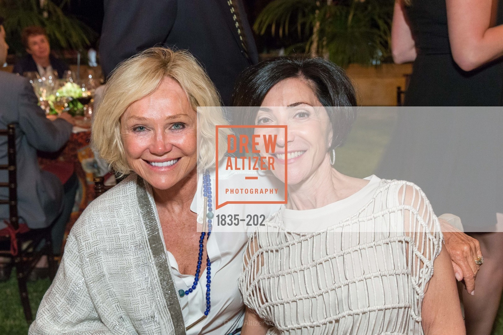 Kathryn Hall, Gail Policy, Festival del Sole Patron Dinner at Darioush Winery, Darioush Winery. 4240 Silverado Trail, July 24th, 2015,Drew Altizer, Drew Altizer Photography, full-service agency, private events, San Francisco photographer, photographer california