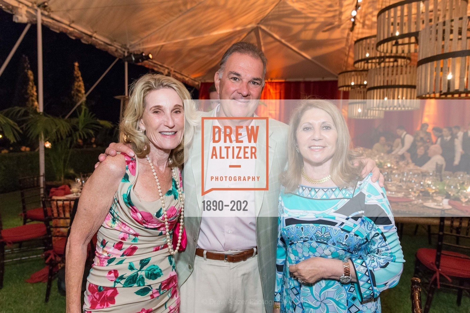 Lorna Meyer Calas, Dennis Calas, Athena Blackburn, Festival del Sole Patron Dinner at Darioush Winery, Darioush Winery. 4240 Silverado Trail, July 24th, 2015,Drew Altizer, Drew Altizer Photography, full-service agency, private events, San Francisco photographer, photographer california