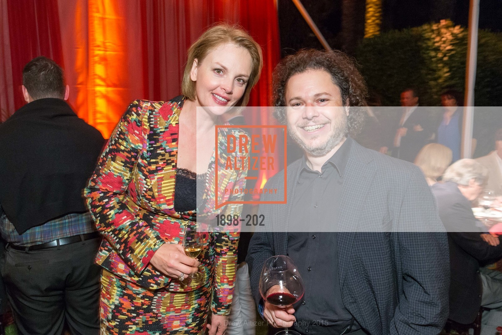 Nina Kotova, Matt Haimovitz, Festival del Sole Patron Dinner at Darioush Winery, Darioush Winery. 4240 Silverado Trail, July 24th, 2015,Drew Altizer, Drew Altizer Photography, full-service agency, private events, San Francisco photographer, photographer california