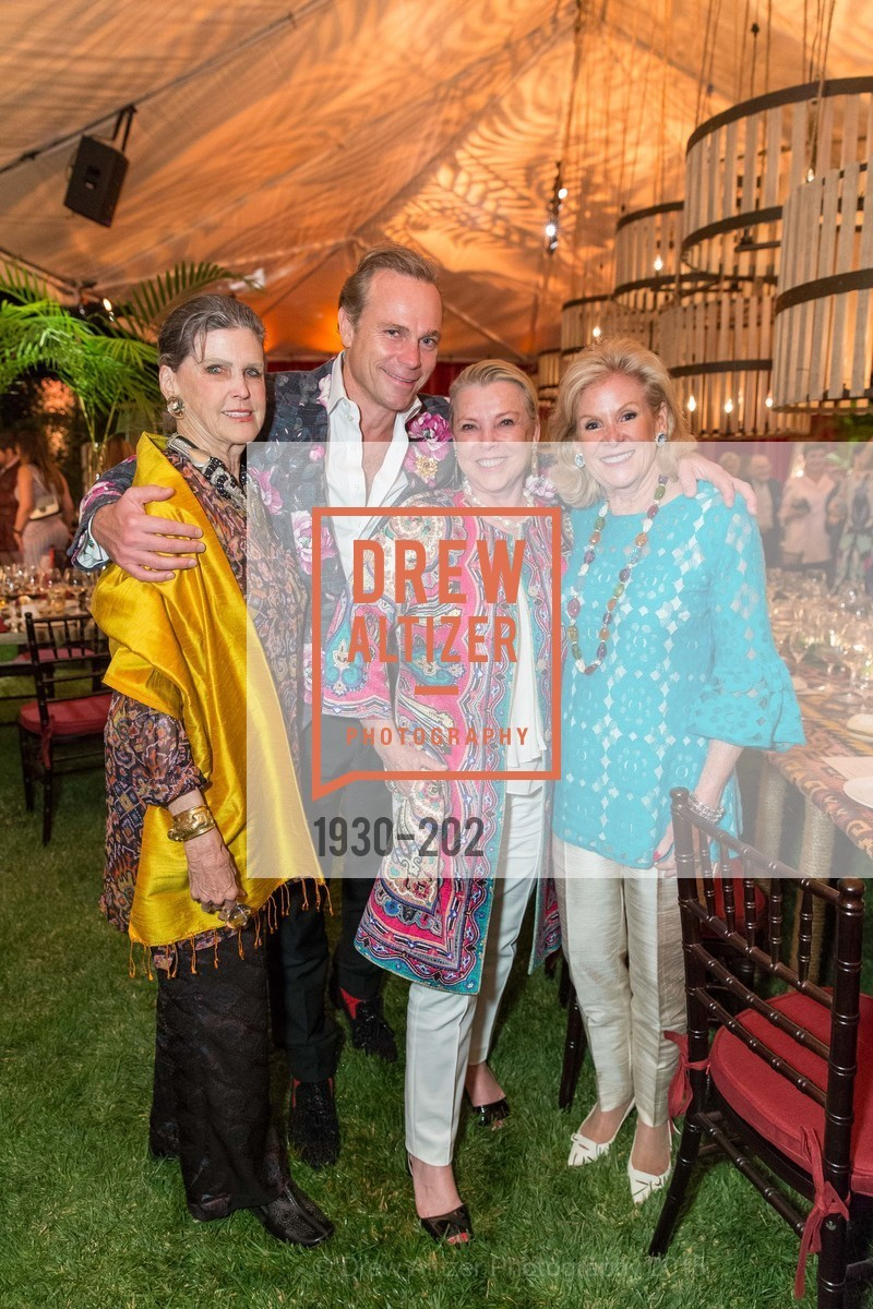 Donna Long, Jean-Charles Boisset, Jeanne Lawrence, Dede Wilsey, Festival del Sole Patron Dinner at Darioush Winery, Darioush Winery. 4240 Silverado Trail, July 24th, 2015,Drew Altizer, Drew Altizer Photography, full-service agency, private events, San Francisco photographer, photographer california