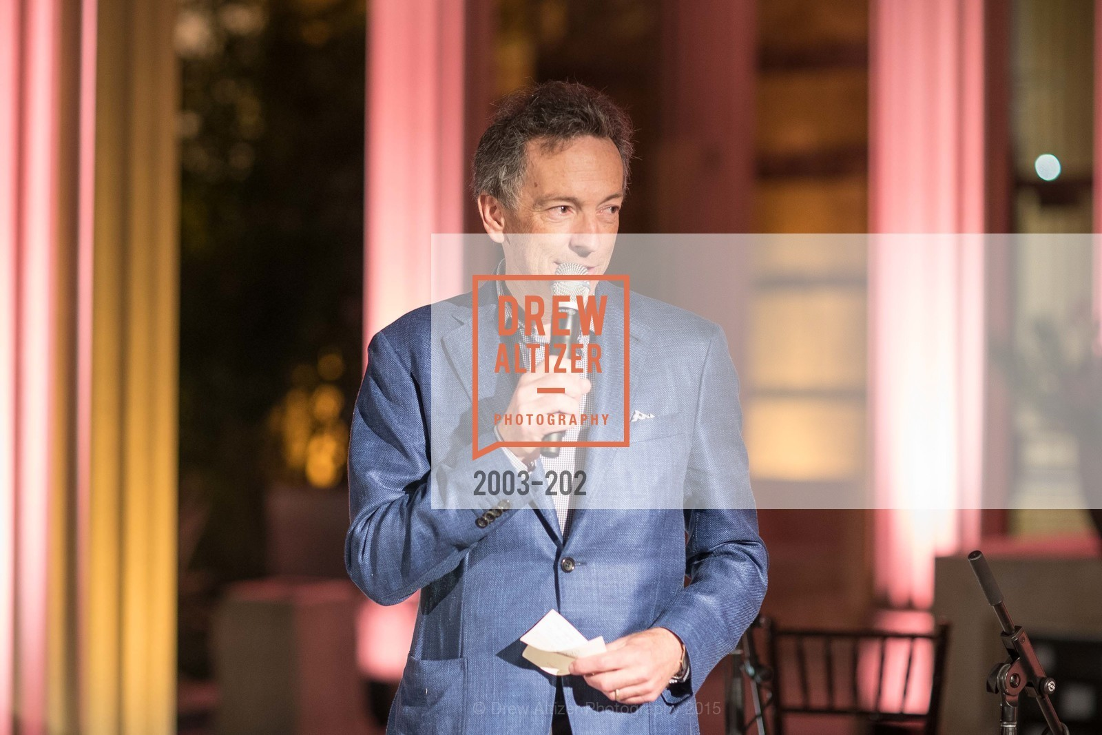 Rick Walker, Festival del Sole Patron Dinner at Darioush Winery, Darioush Winery. 4240 Silverado Trail, July 24th, 2015,Drew Altizer, Drew Altizer Photography, full-service agency, private events, San Francisco photographer, photographer california