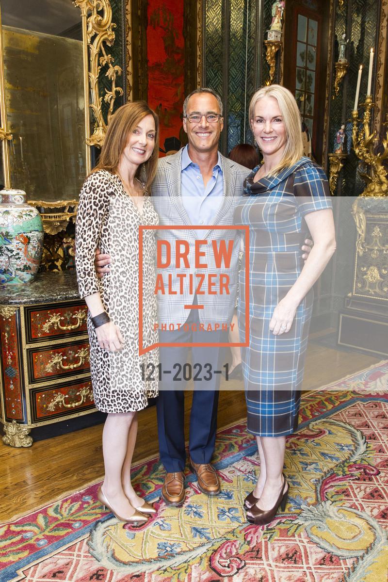 Amanda Hoenigman, Vince Hoenigman, Deborah Keene, Africa Foundation Reception/Auction '17, Private Residence, April 12th, 2017