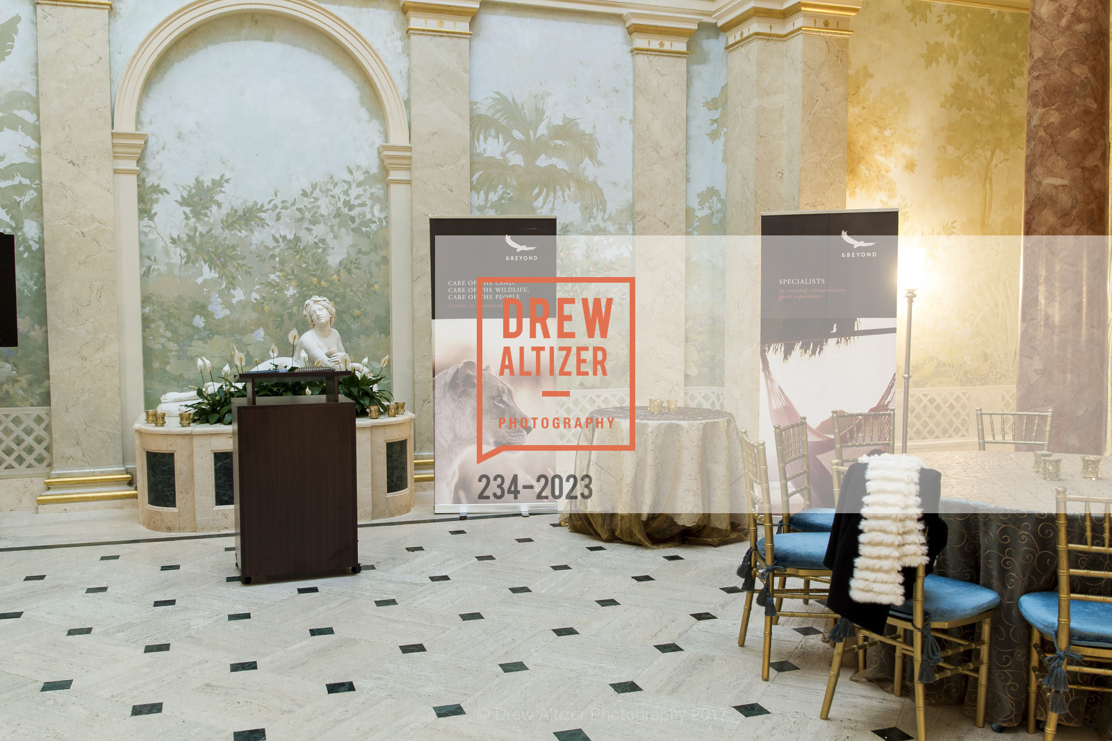 Atmosphere, Africa Foundation Reception/Auction '17, Private Residence, April 12th, 2017