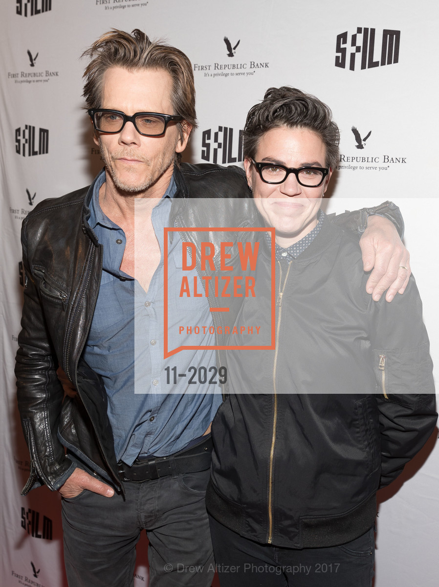 Kevin Bacon, Sarah Gubbins, I LOVE DICK: SFFILM Premiere Arrivals, Alamo Drafthouse New Mission. 2550 Mission Street, April 15th, 2017