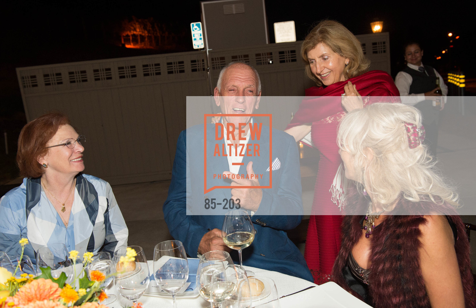Romana Bracco, Dario Sattui, Rita Castellucci, Irina Yartseva, Festival del Sole Patron Dinner at Odette Estate, Odette Estate. 5998 Silverado Trail, July 26th, 2015,Drew Altizer, Drew Altizer Photography, full-service agency, private events, San Francisco photographer, photographer california