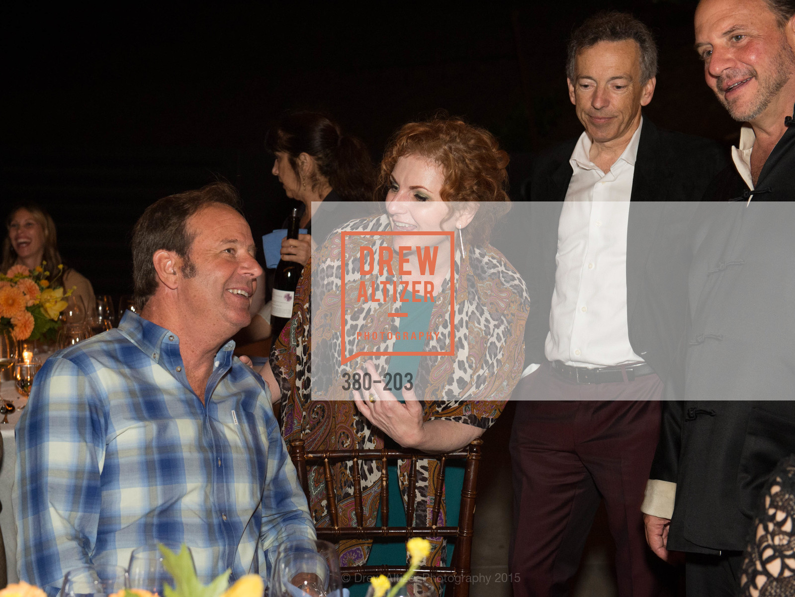 John Conover, Lisa Delan, Rick Walker, Barrett Wissman, Festival del Sole Patron Dinner at Odette Estate, Odette Estate. 5998 Silverado Trail, July 26th, 2015,Drew Altizer, Drew Altizer Photography, full-service agency, private events, San Francisco photographer, photographer california