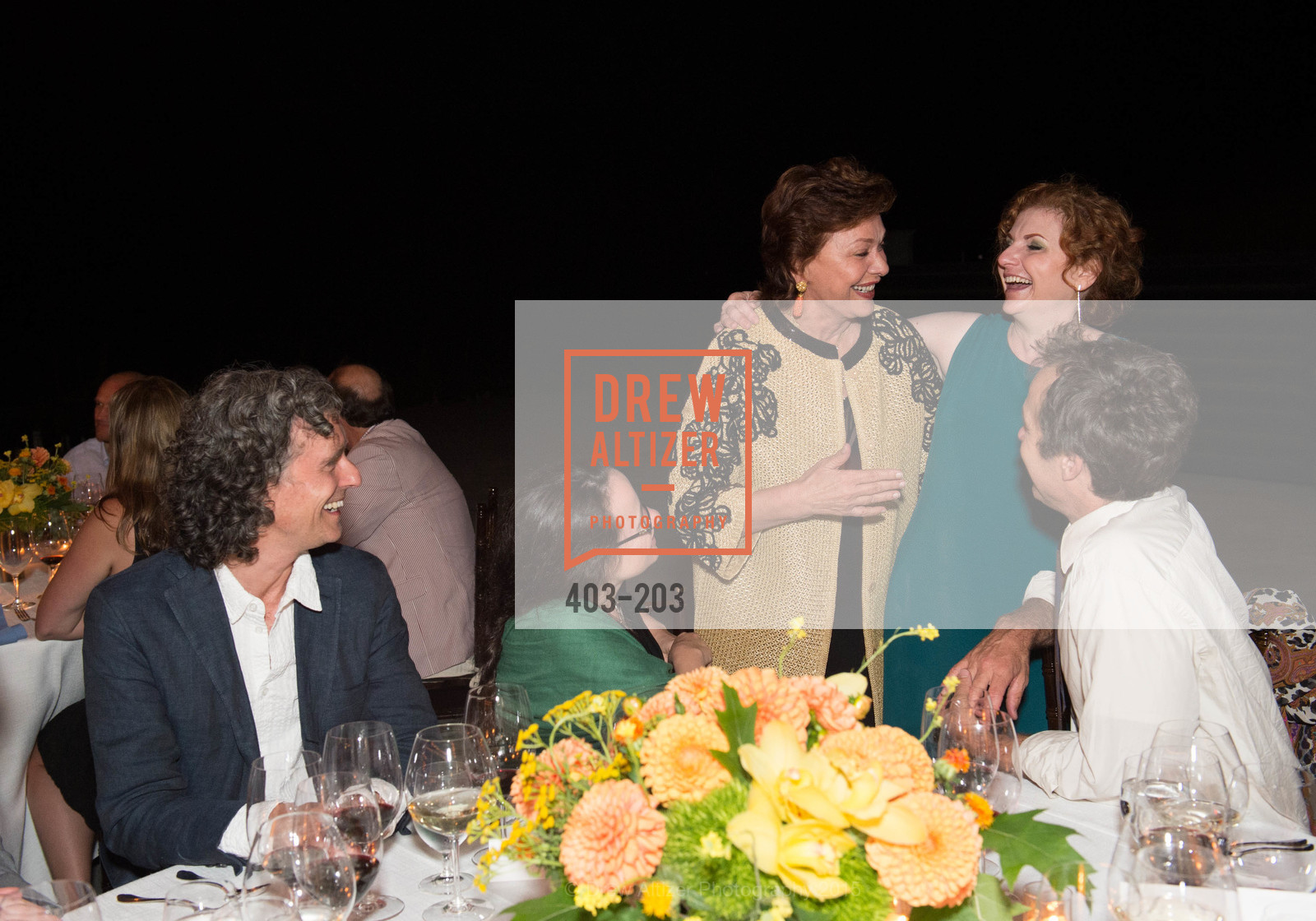 Bruce Rameker, Maria Manetti Shrem, Lisa Delan, Festival del Sole Patron Dinner at Odette Estate, Odette Estate. 5998 Silverado Trail, July 26th, 2015,Drew Altizer, Drew Altizer Photography, full-service agency, private events, San Francisco photographer, photographer california