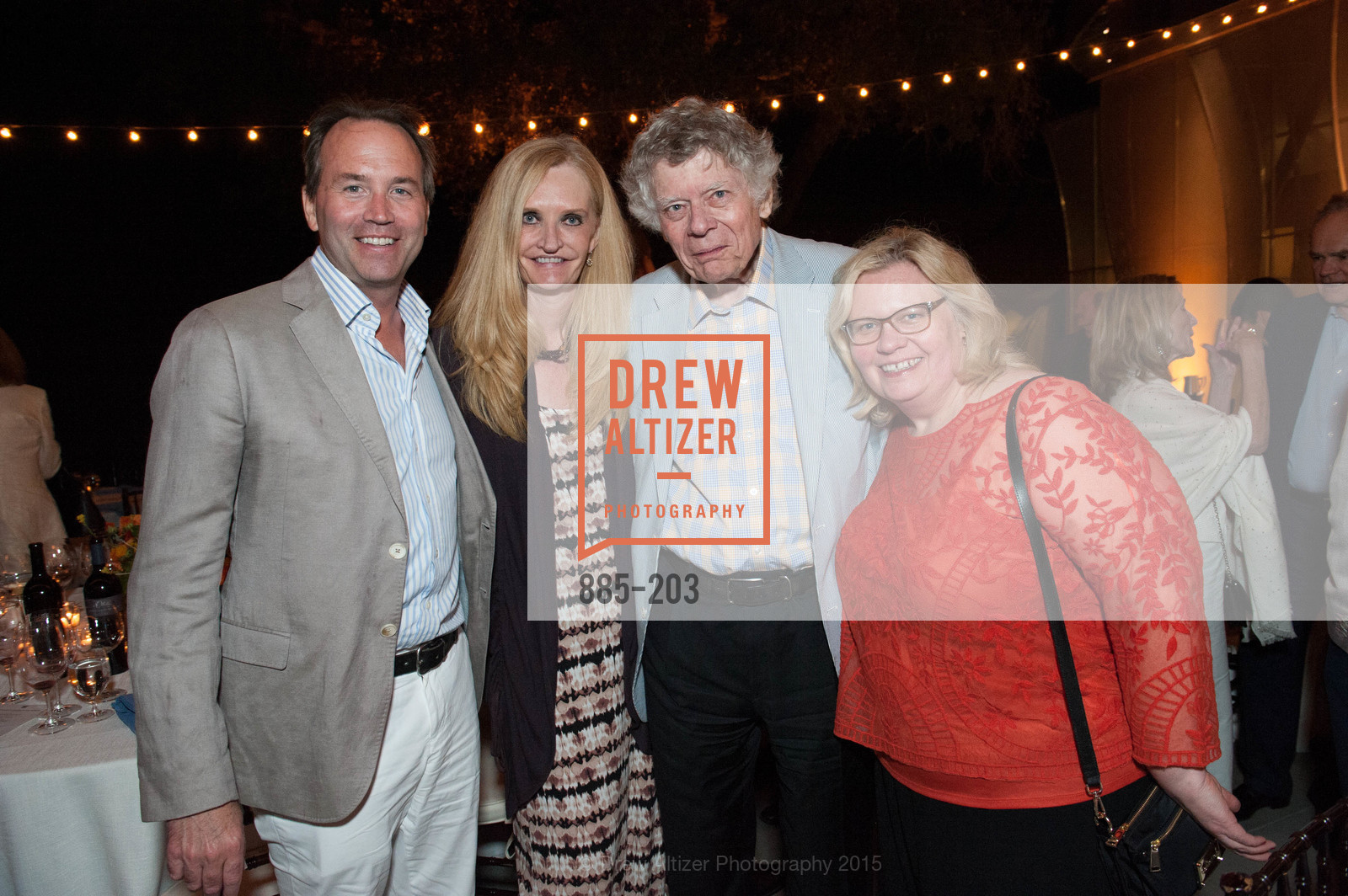 Chip Zecher, Beth Townsend, Gordon Getty, Christy Chu, Festival del Sole Patron Dinner at Odette Estate, Odette Estate. 5998 Silverado Trail, July 26th, 2015,Drew Altizer, Drew Altizer Photography, full-service event agency, private events, San Francisco photographer, photographer California