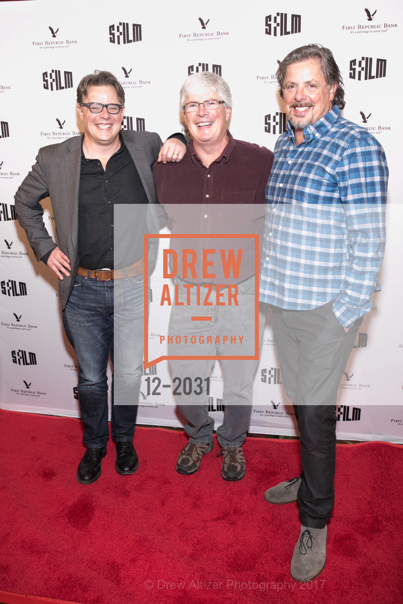 Andrew Smith, Eric Smith, Alex Smith, SFFILM Premiere Arrivals: Walking Out, Alamo Drafthouse New Mission. 2550 Mission Street, April 18th, 2017