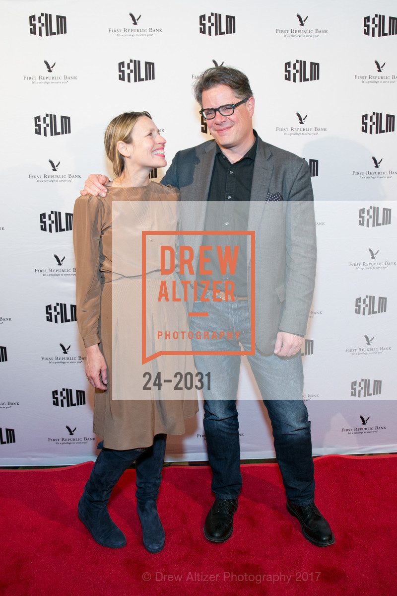 Courtney Saunders, Andrew Smith, SFFILM Premiere Arrivals: Walking Out, Alamo Drafthouse New Mission. 2550 Mission Street, April 18th, 2017