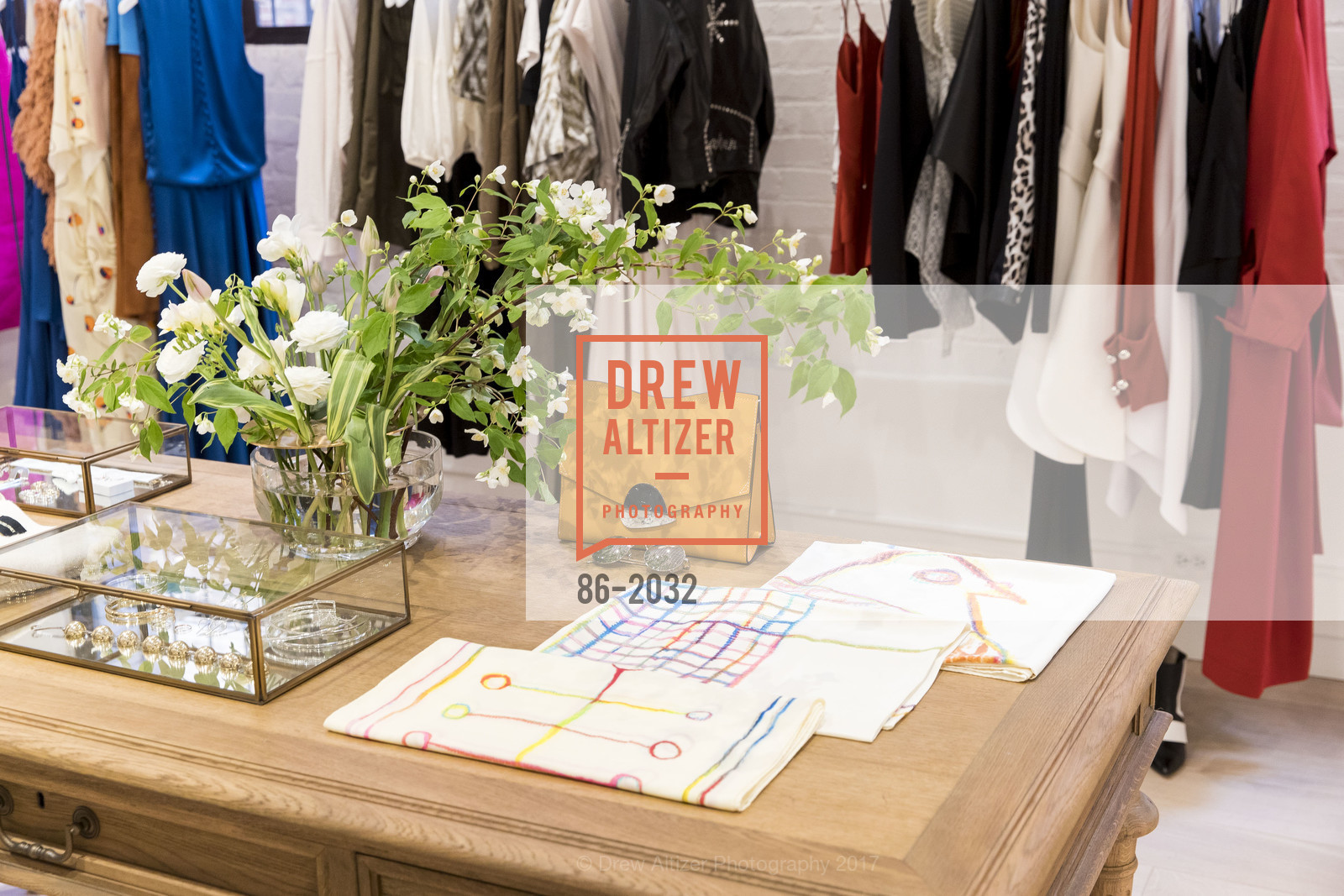 Atmosphere, Nellie Partow F17 Trunkshow at PIA (The Store), PIA. 414 Jackson St.  San Francisco, California, April 19th, 2017