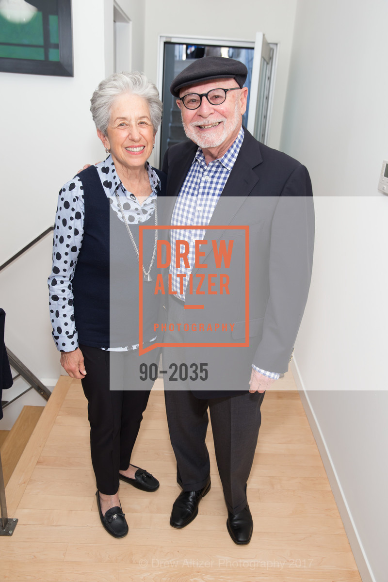 Joyce Linker, Jerry Weisbach, California College of the Arts Pre-Gala Party, Private Residence, April 19th, 2017