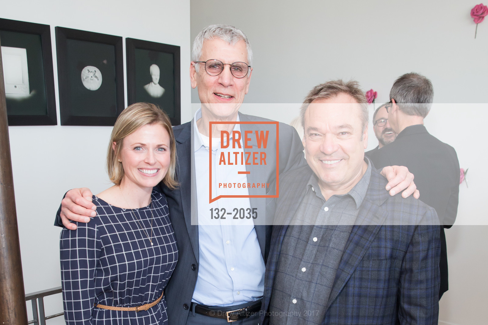 Carolyn Salcido, Stephen Beal, Stanlee Gatti, California College of the Arts Pre-Gala Party, Private Residence, April 19th, 2017