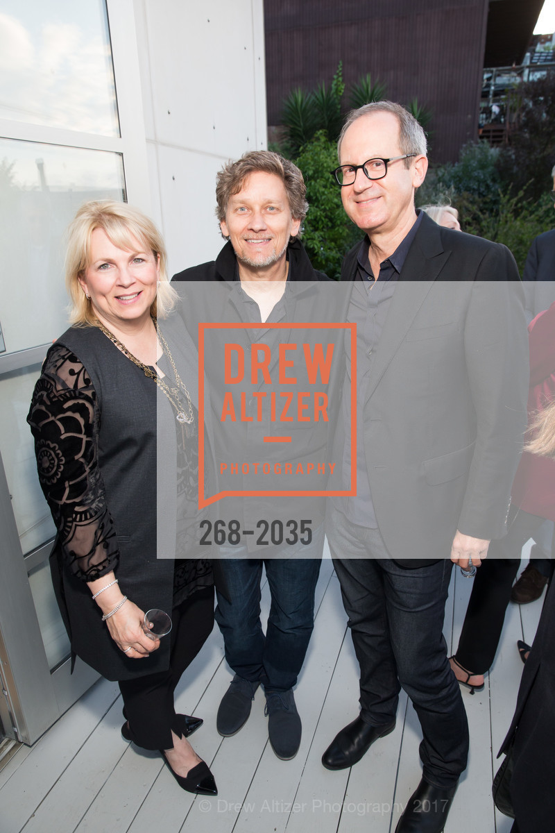 Tammy Borosky, Michael Borosky, Mark Jensen, California College of the Arts Pre-Gala Party, Private Residence, April 19th, 2017