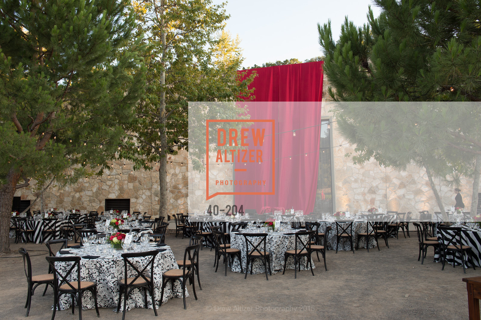 Atmosphere, Festival del Sole Patron Dinner at Quintessa, Quintessa. 1601 Silverado Trail, July 25th, 2015