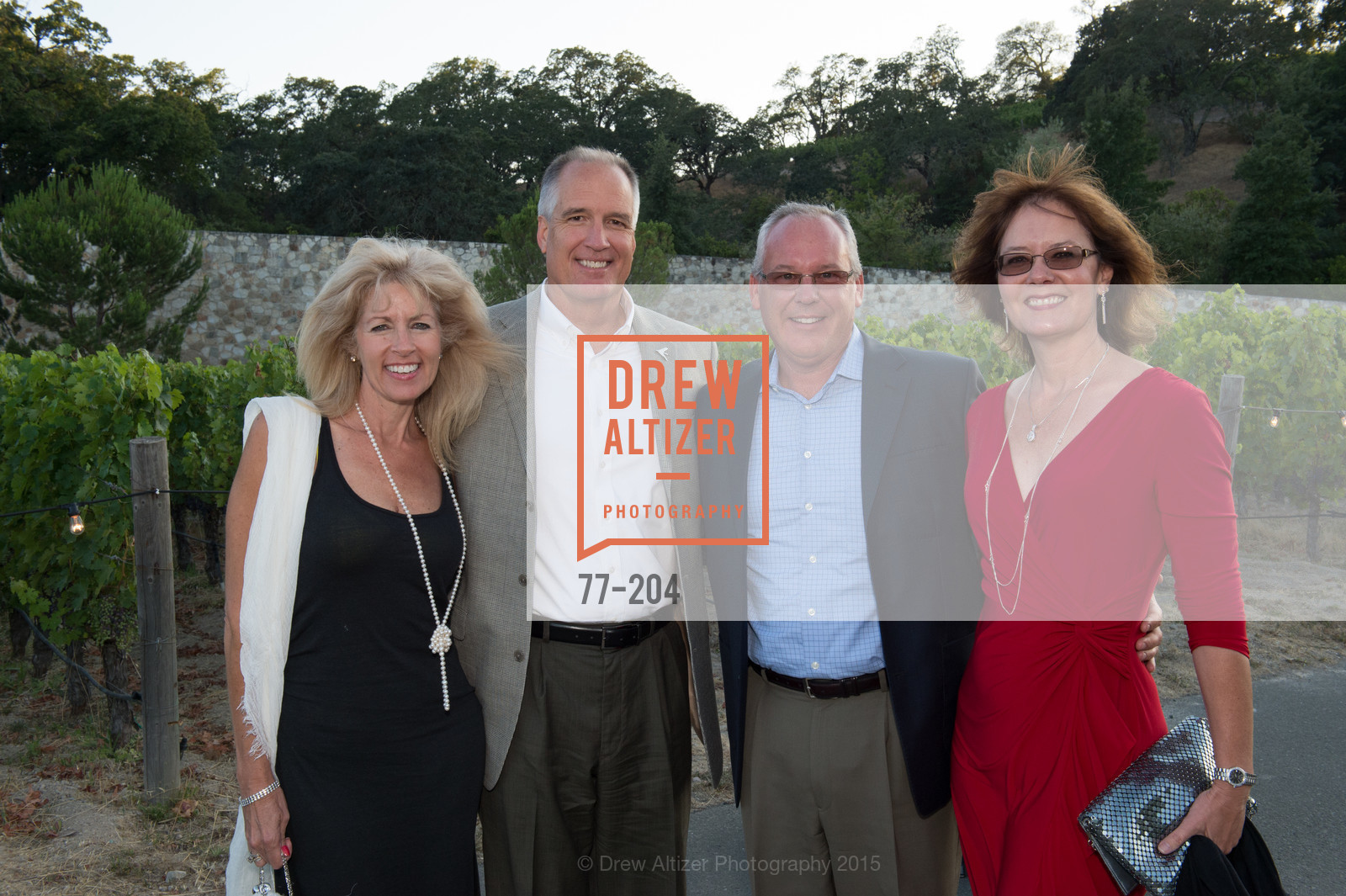 Lisa Plane, Jim Lewis, Ken Bowen, Debbie Bowen, Festival del Sole Patron Dinner at Quintessa, Quintessa. 1601 Silverado Trail, July 25th, 2015,Drew Altizer, Drew Altizer Photography, full-service agency, private events, San Francisco photographer, photographer california