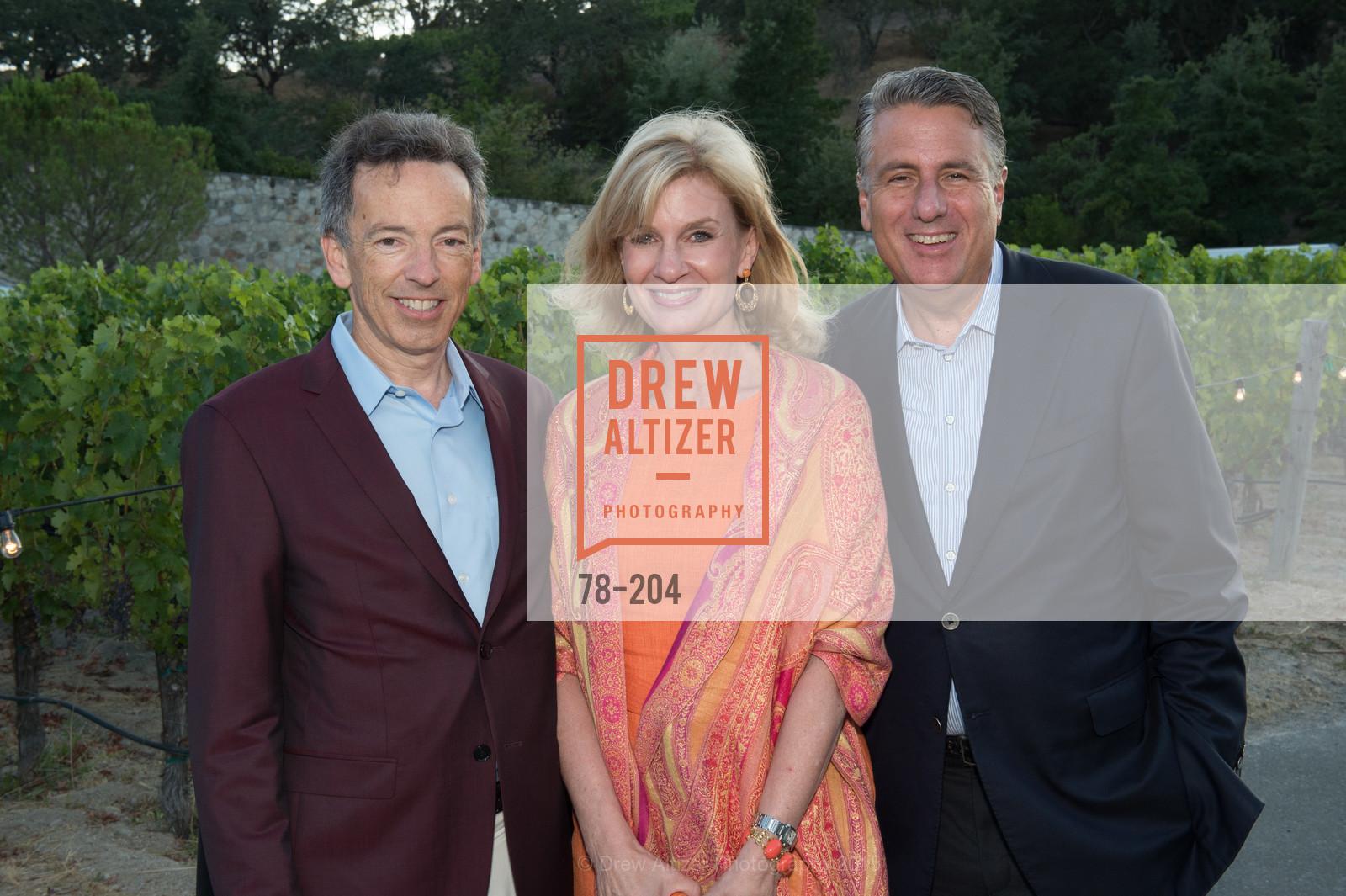 Rick Walker, Karen Walker, David Taub, Photo #78-204