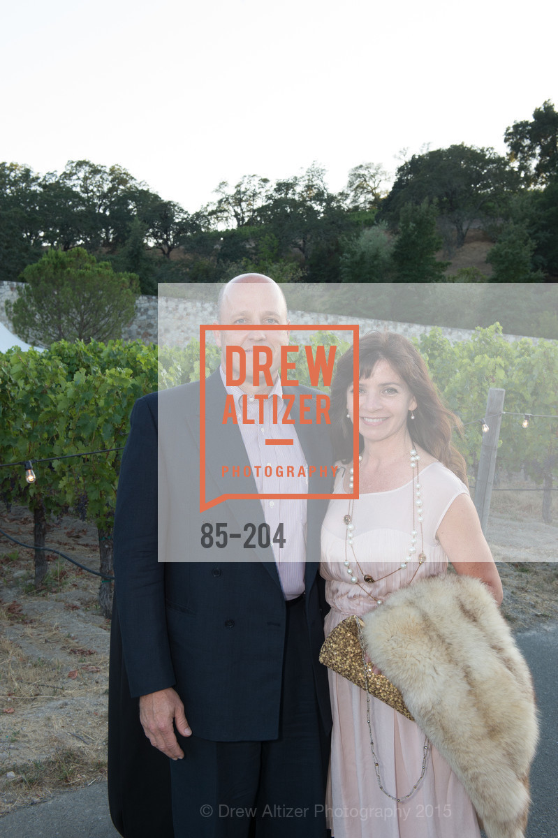 Robert Morey, Kate Salenfriend, Festival del Sole Patron Dinner at Quintessa, Quintessa. 1601 Silverado Trail, July 25th, 2015,Drew Altizer, Drew Altizer Photography, full-service agency, private events, San Francisco photographer, photographer california