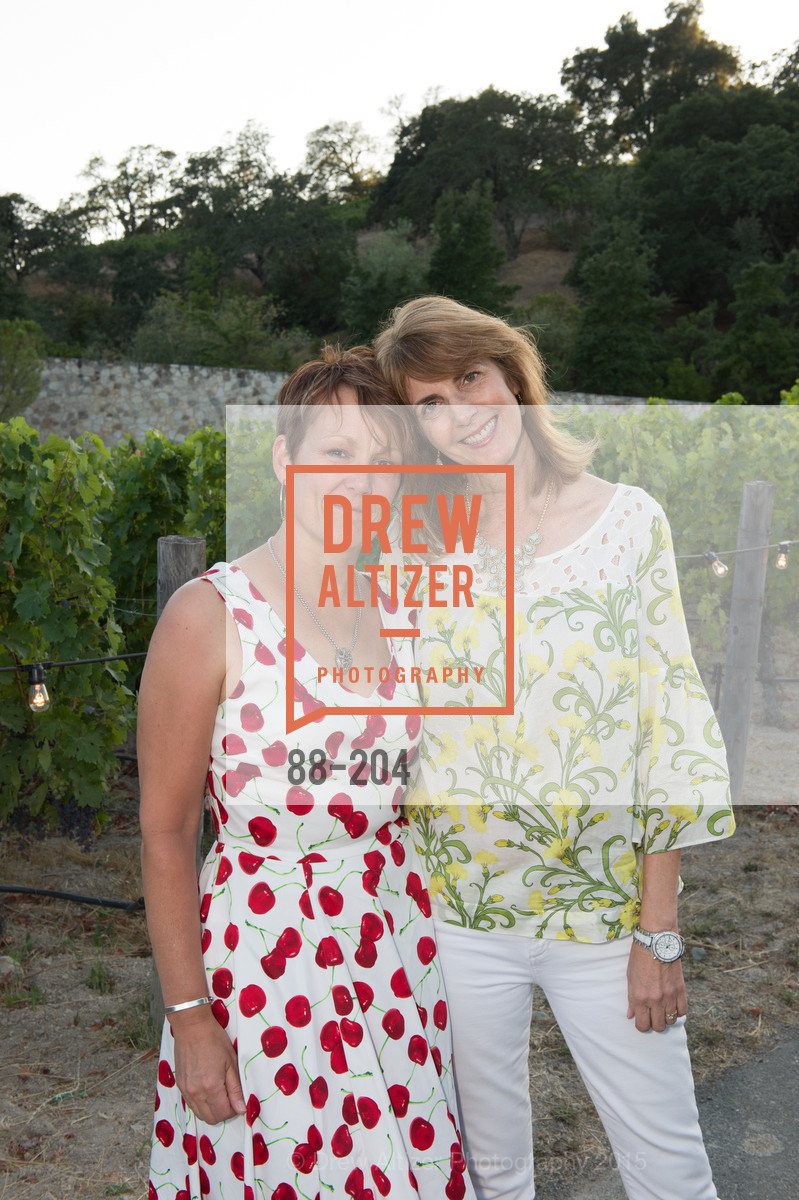 Anne Marie Adrain, Aura Bland, Festival del Sole Patron Dinner at Quintessa, Quintessa. 1601 Silverado Trail, July 25th, 2015,Drew Altizer, Drew Altizer Photography, full-service agency, private events, San Francisco photographer, photographer california